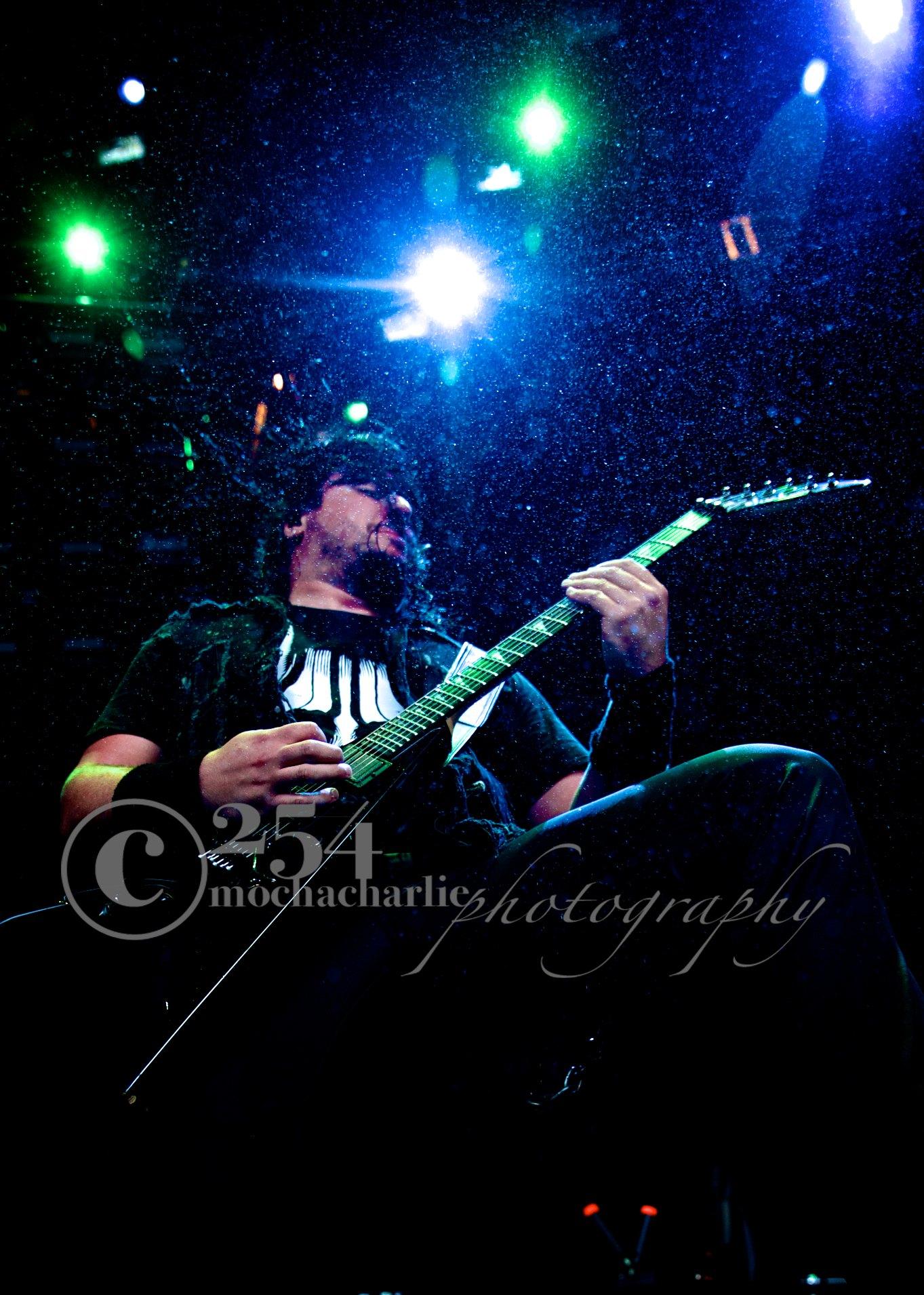 Trivium at Mayhem Festival (Photo by Mocha Charlie)