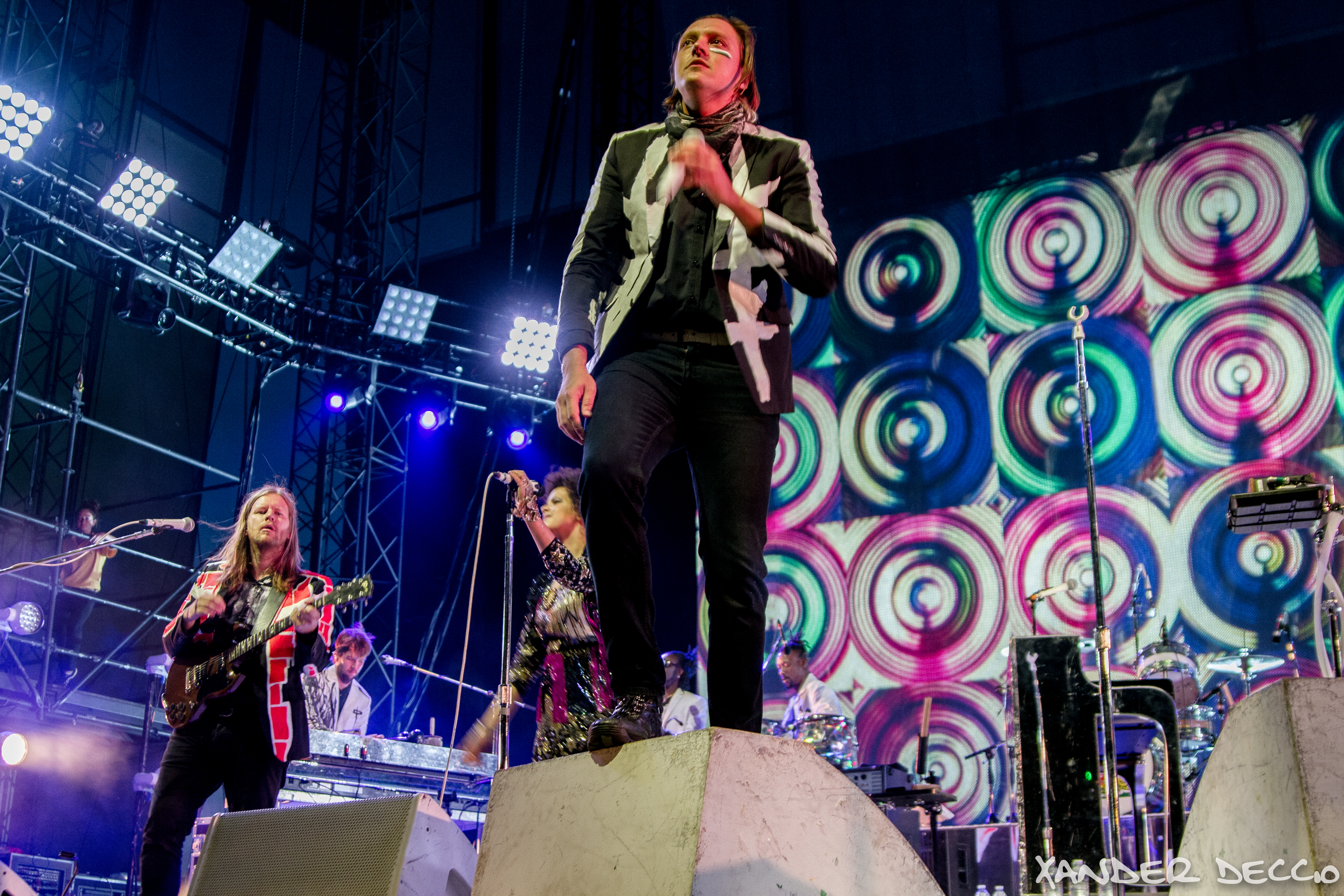Arcade Fire Live at The Gorge (Photo by Xander Deccio)