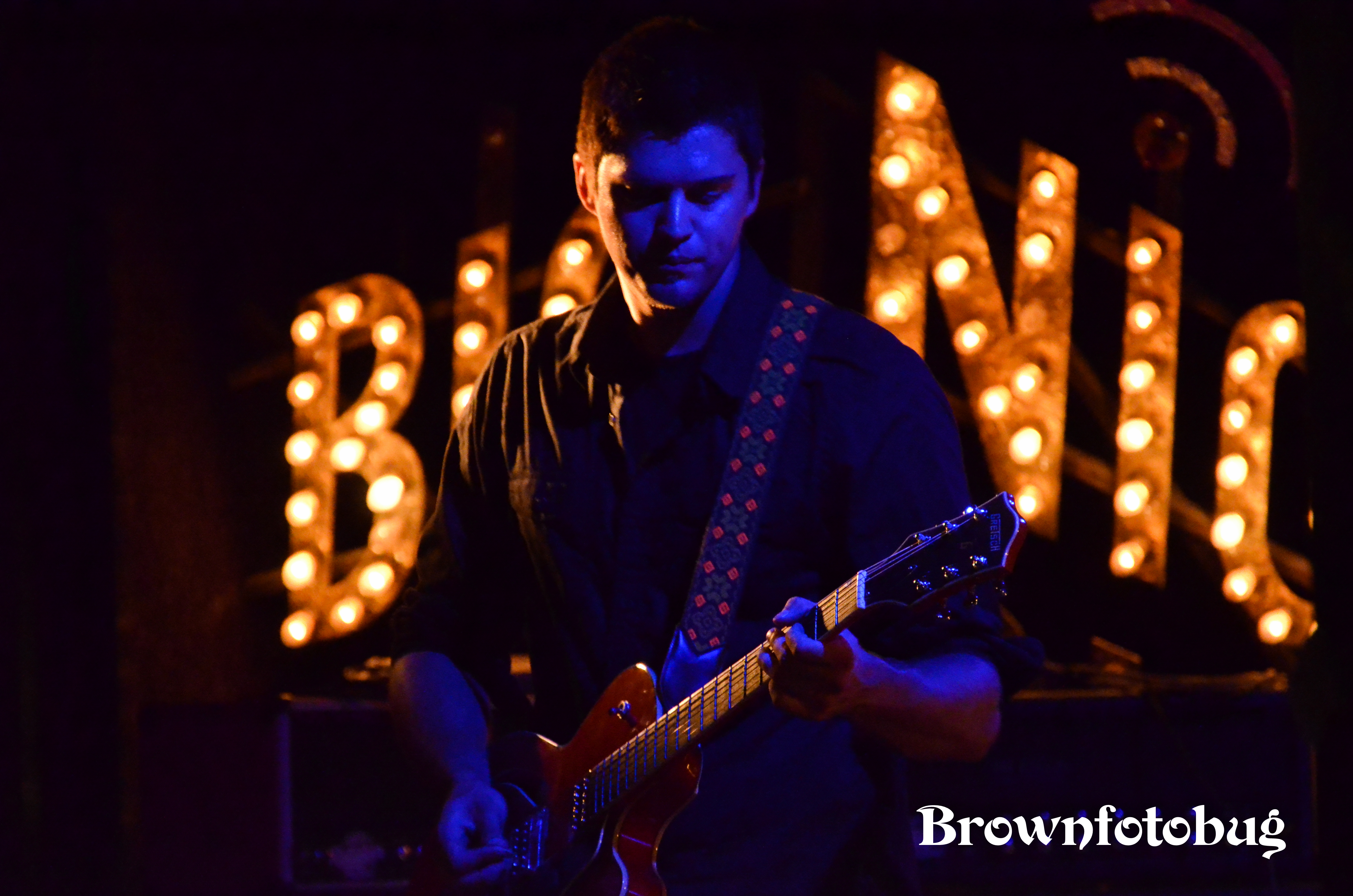Born of Ghosts live at The Rec Room (Photo by Arlene Brown)