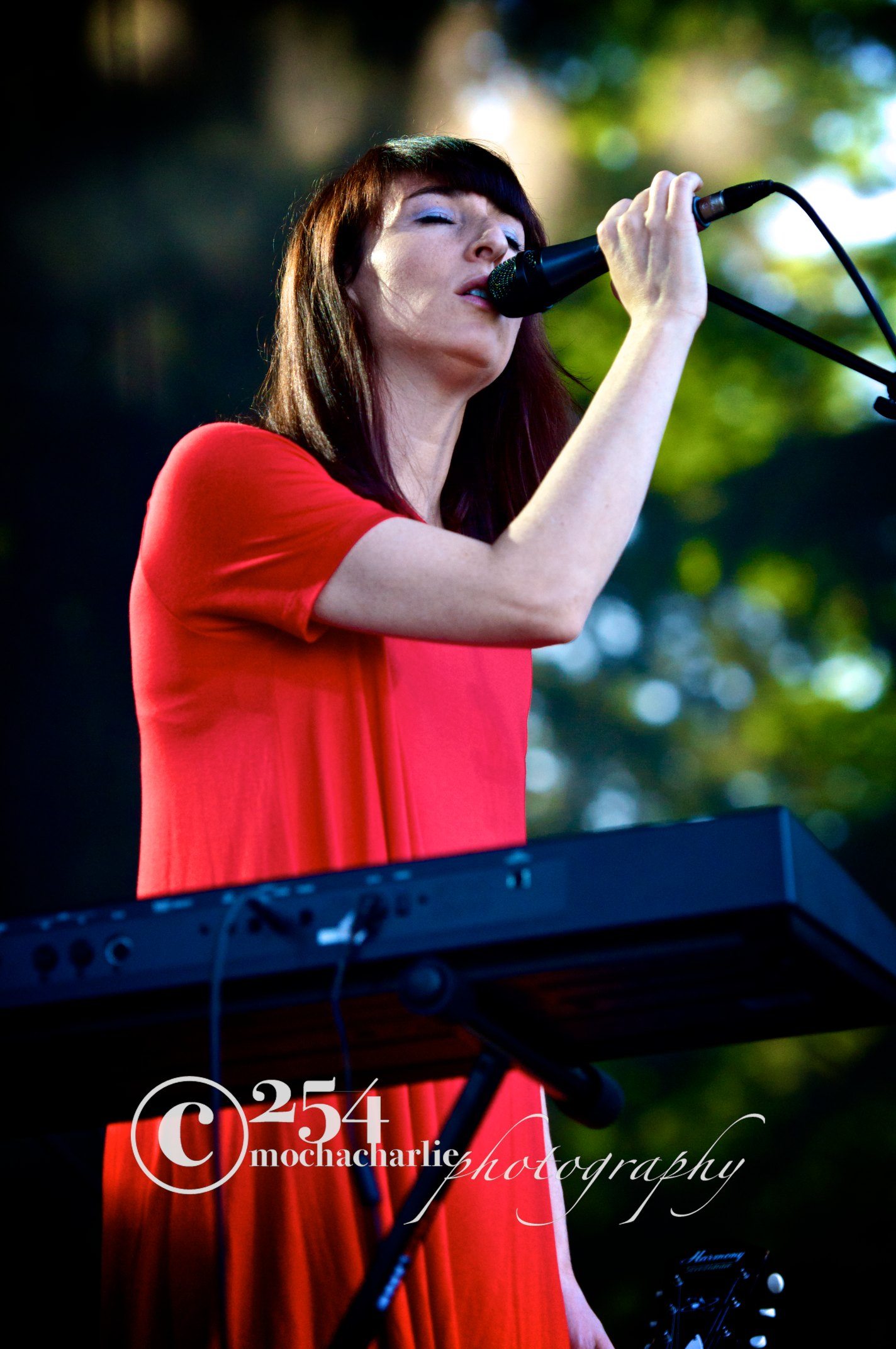 Hannah Georgas at Marymoor Park (Photo by Mocha Charlie)