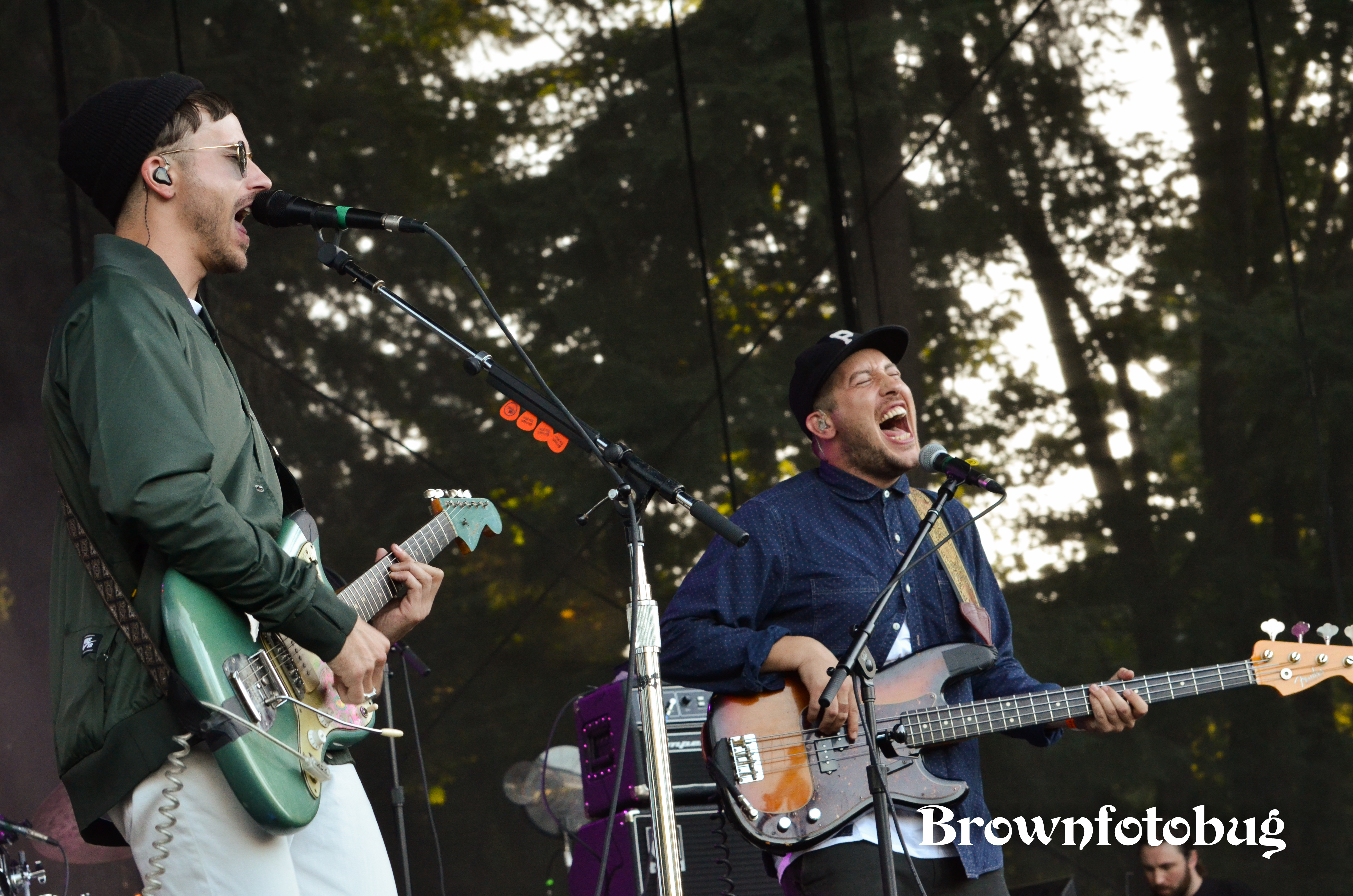 Portugal. The Man at Marymoor Park (Photo by Arlene Brown)