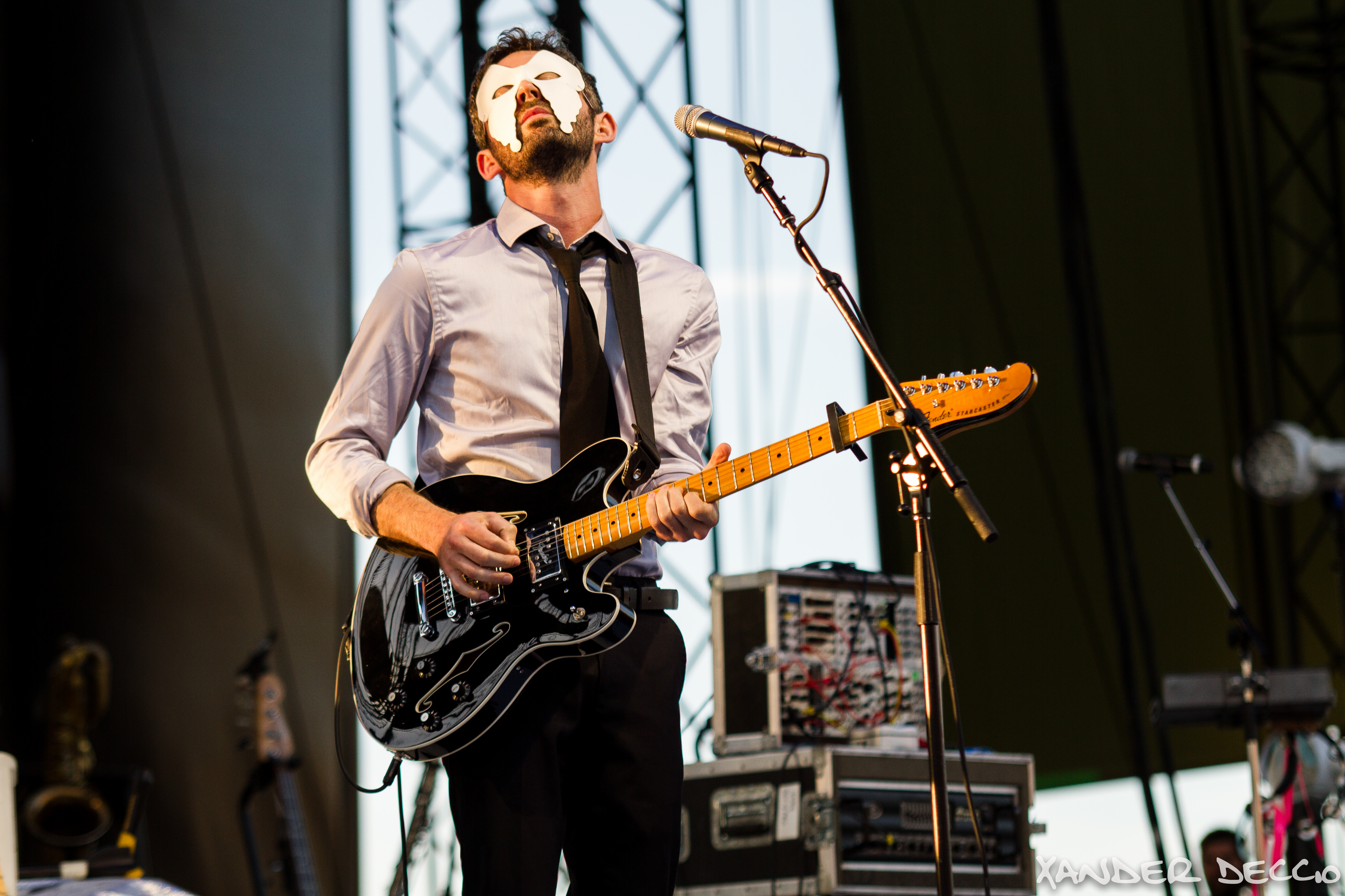 The Antlers Arcade Live at The Gorge (Photo by Xander Deccio)