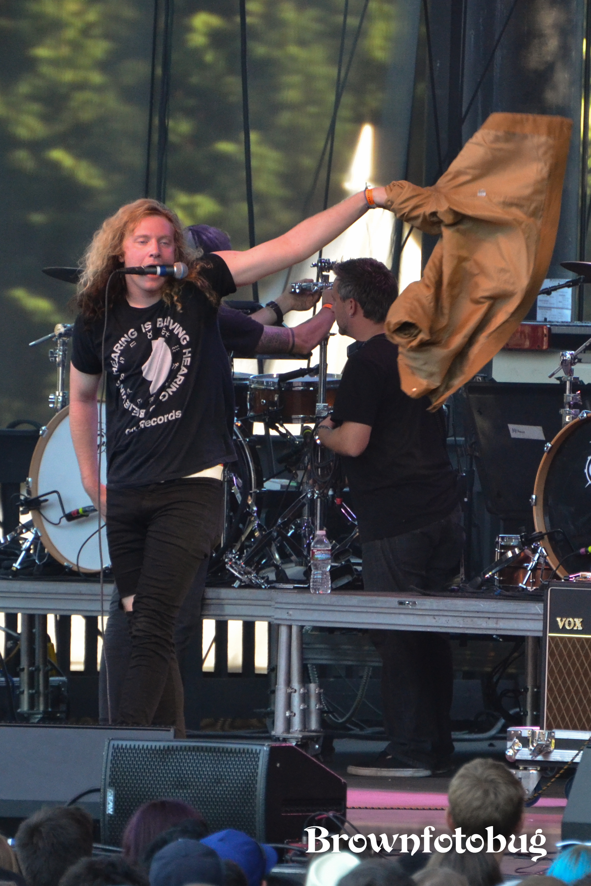 The Orwells at Marymoor Park (Photo by Arlene Brown)