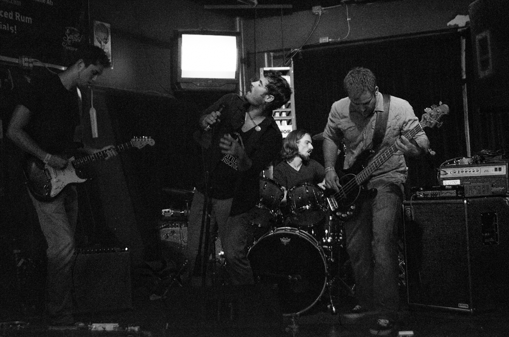 Born Of Ghosts at El Corazon Lounge (Photo by Christine Mitchell)