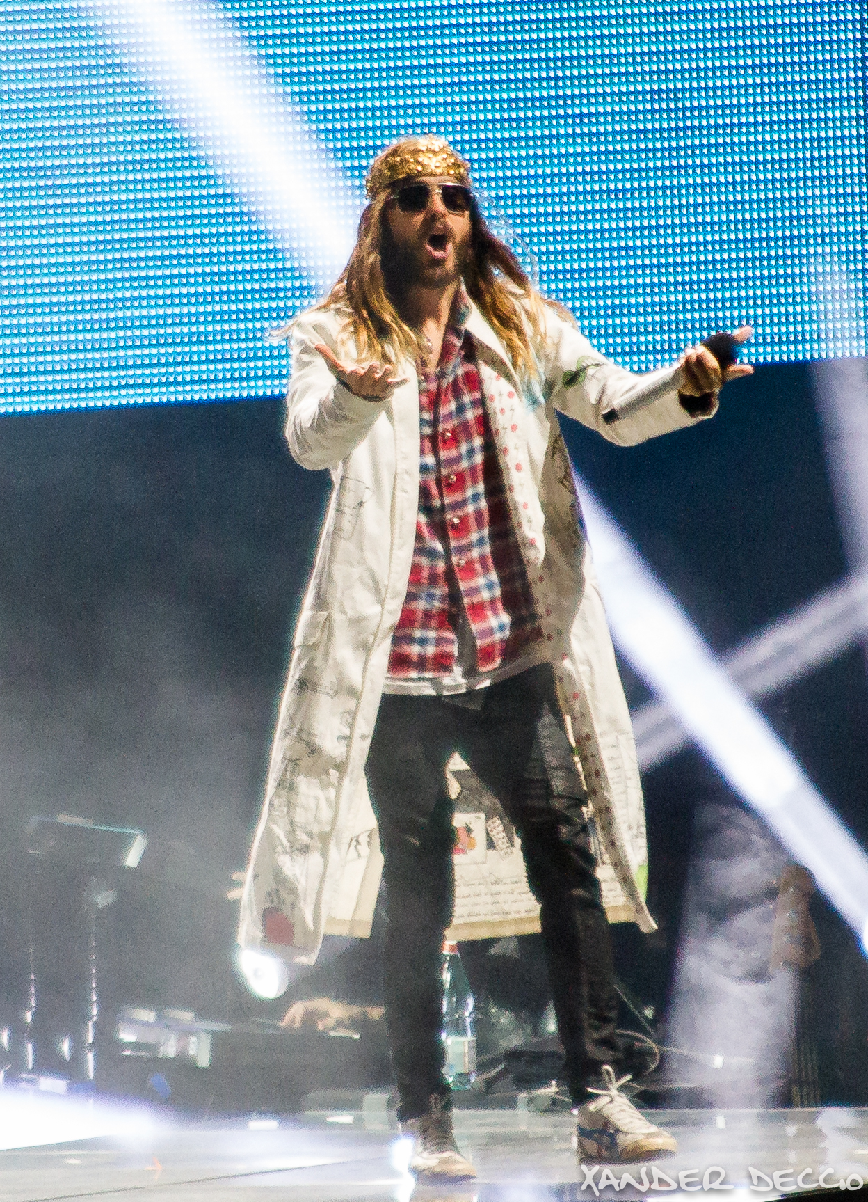 30 Seconds To Mars @ The Gorge Amphitheater (Photo By Xander Deccio)