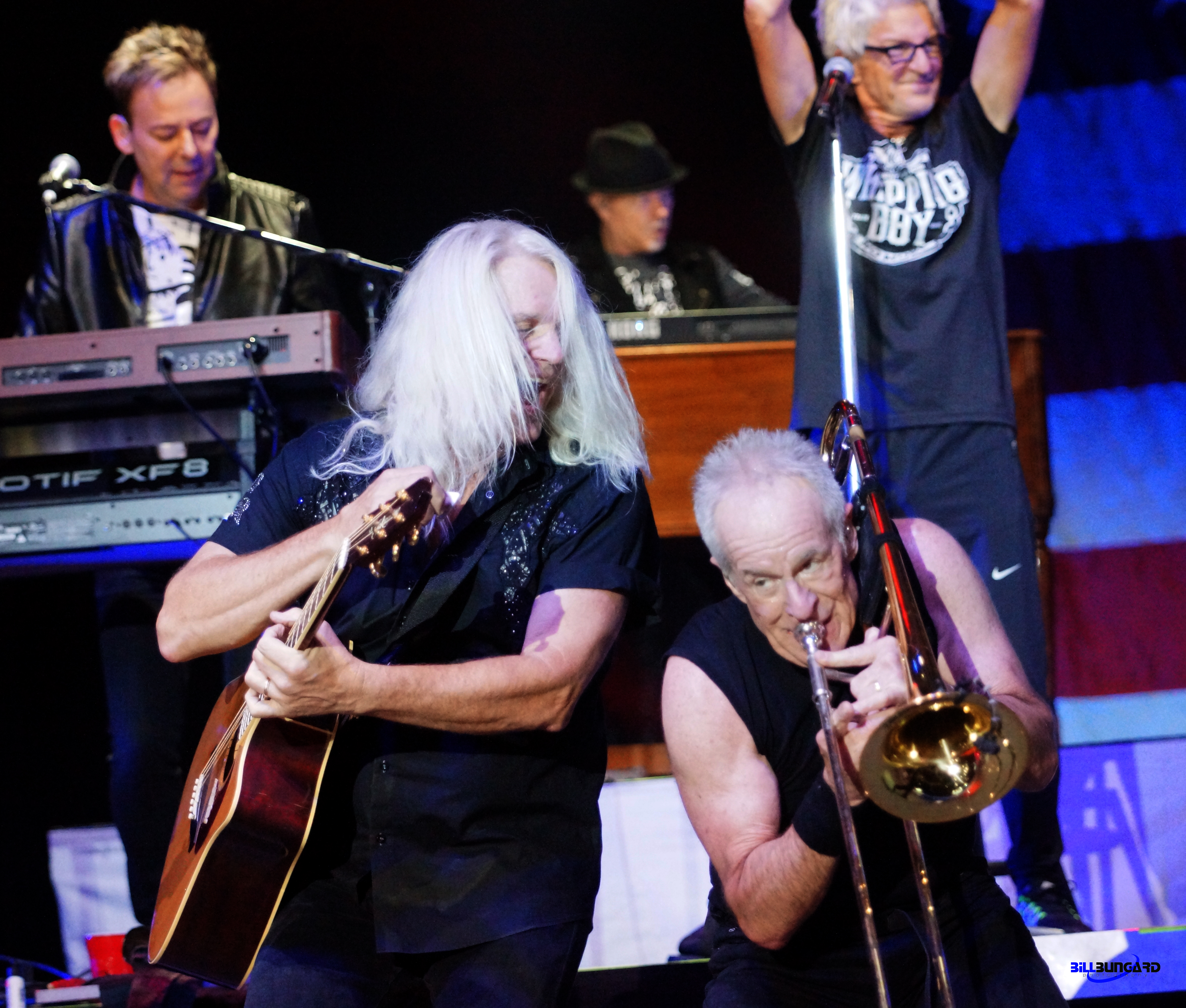 Chicago and REO Speedwagon together at The Puyallup Fair (Photo by Bill Bungard)