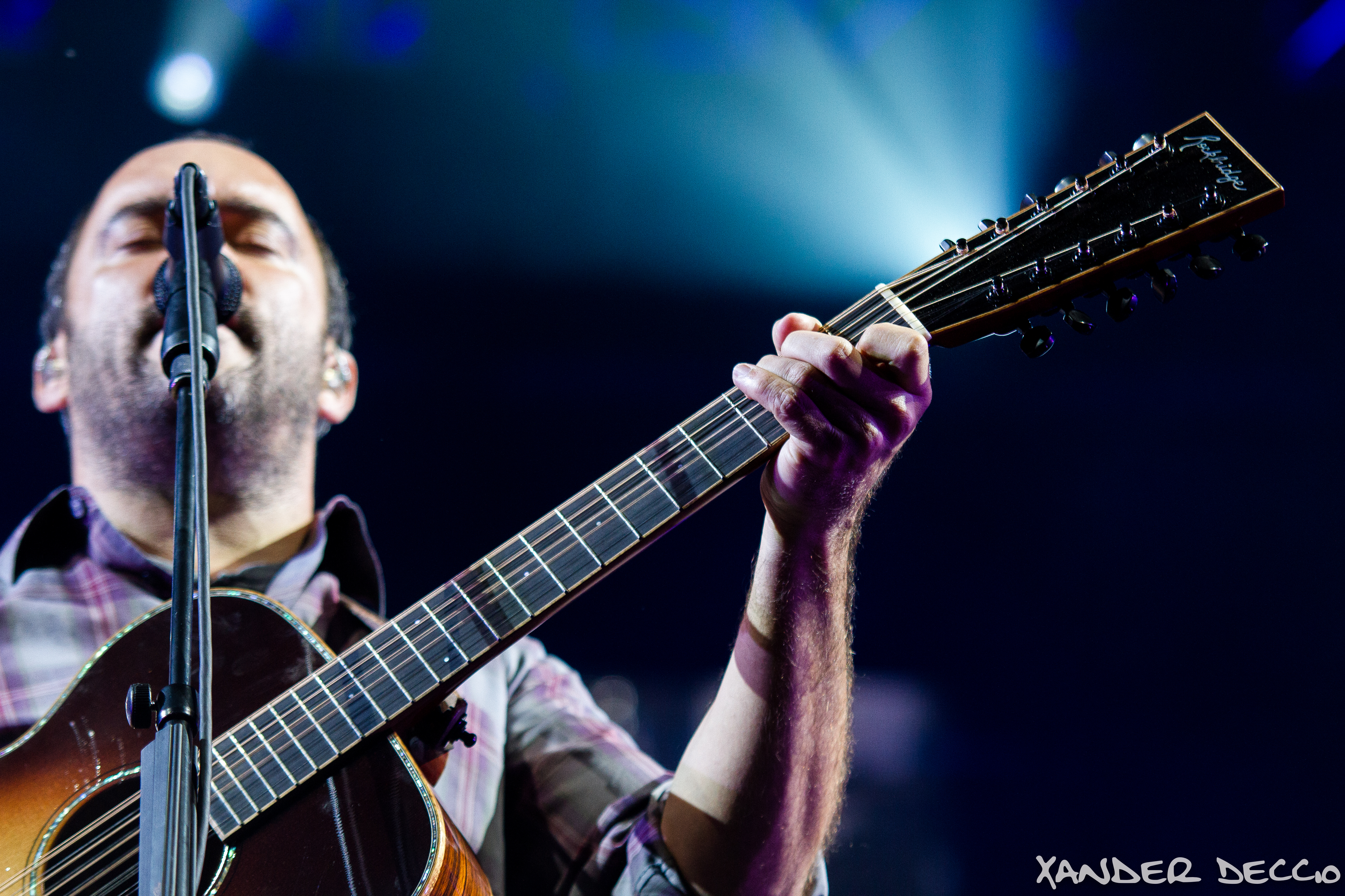 Dave Matthews Band at The Gorge (Photo by Xander Deccio)