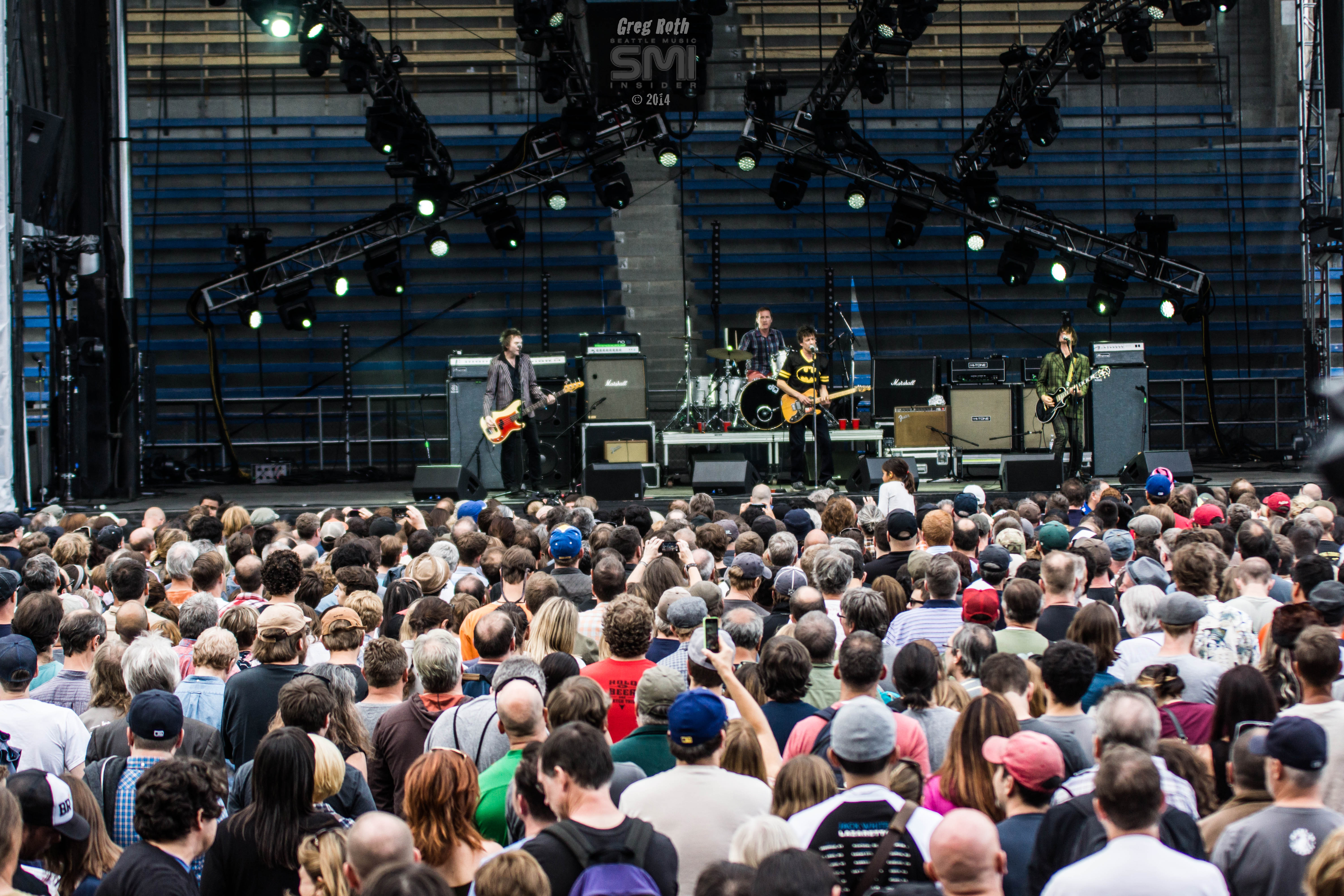 The Replacements Live @ Bumbershoot 2014 (Photo by Greg Roth)
