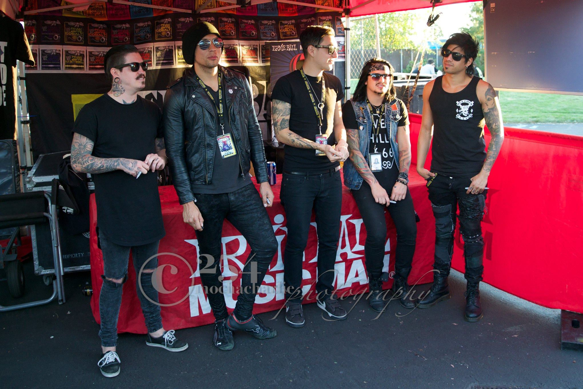 Escape The Fate at Uproar (Photo by Mocha Charlie)