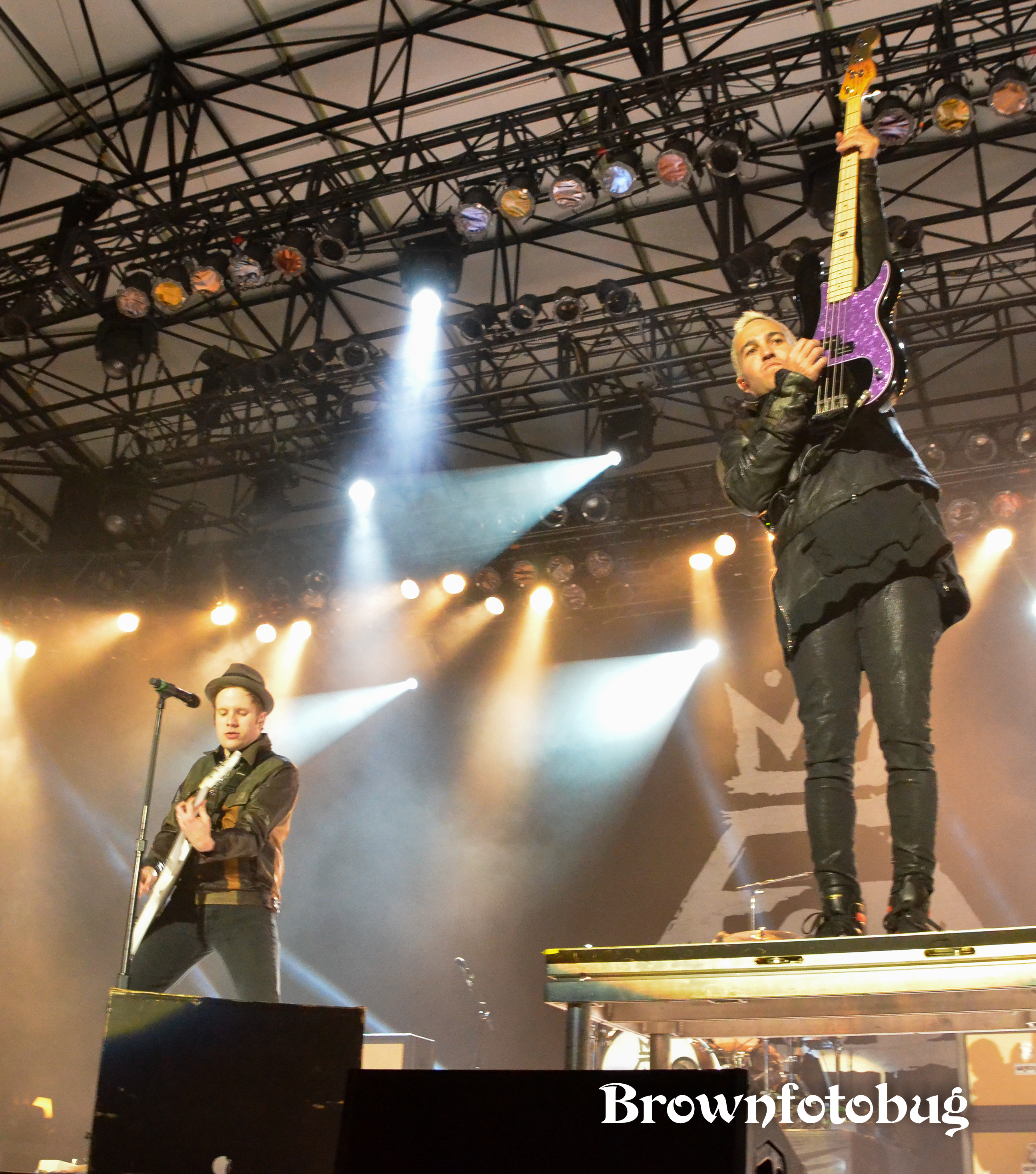 Fall Out Boy Live at Washington State Fair (Photo by Arlene Brown)