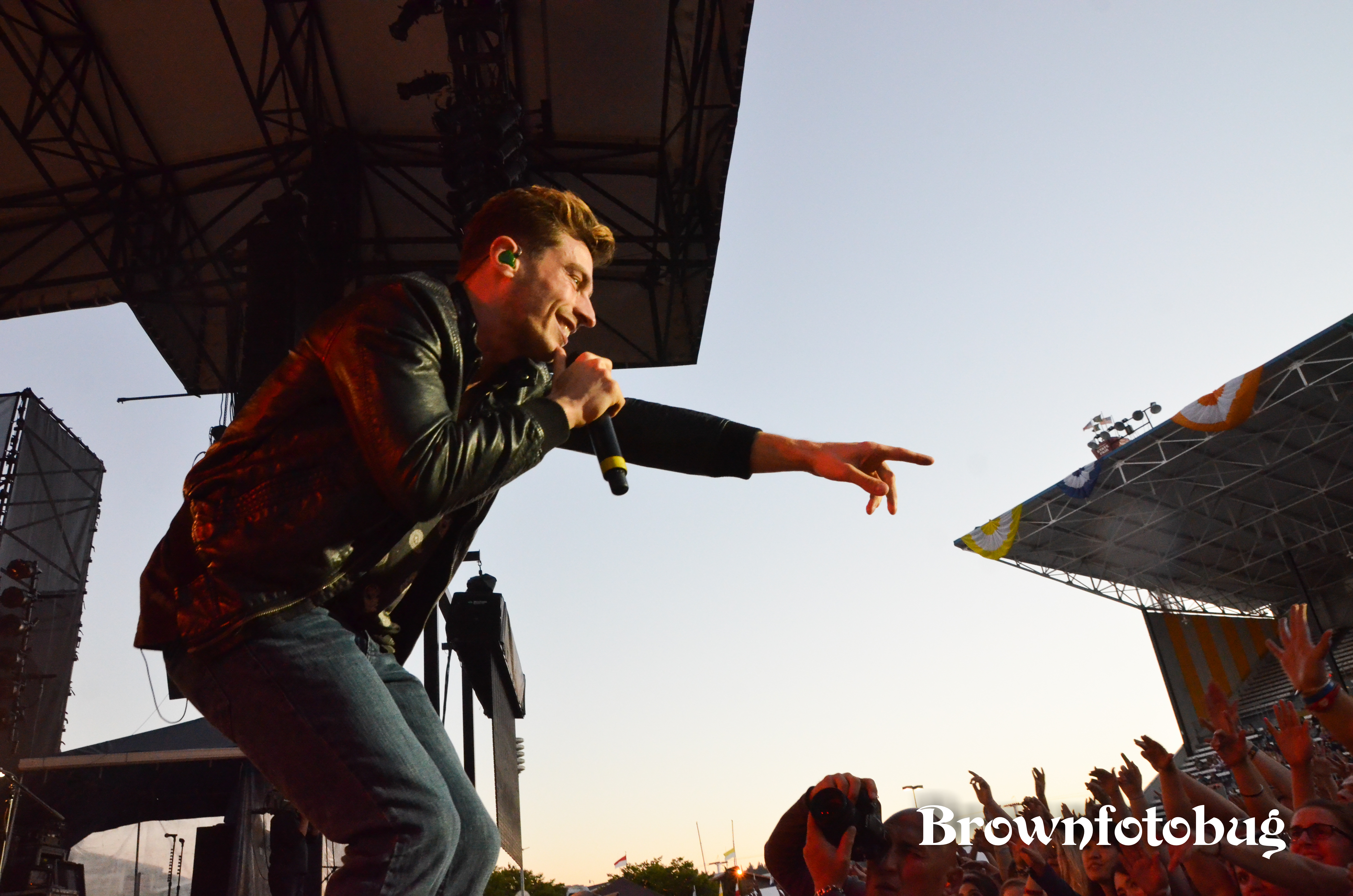 New Politics Live at Washington State Fair (Photo by Arlene Brown)