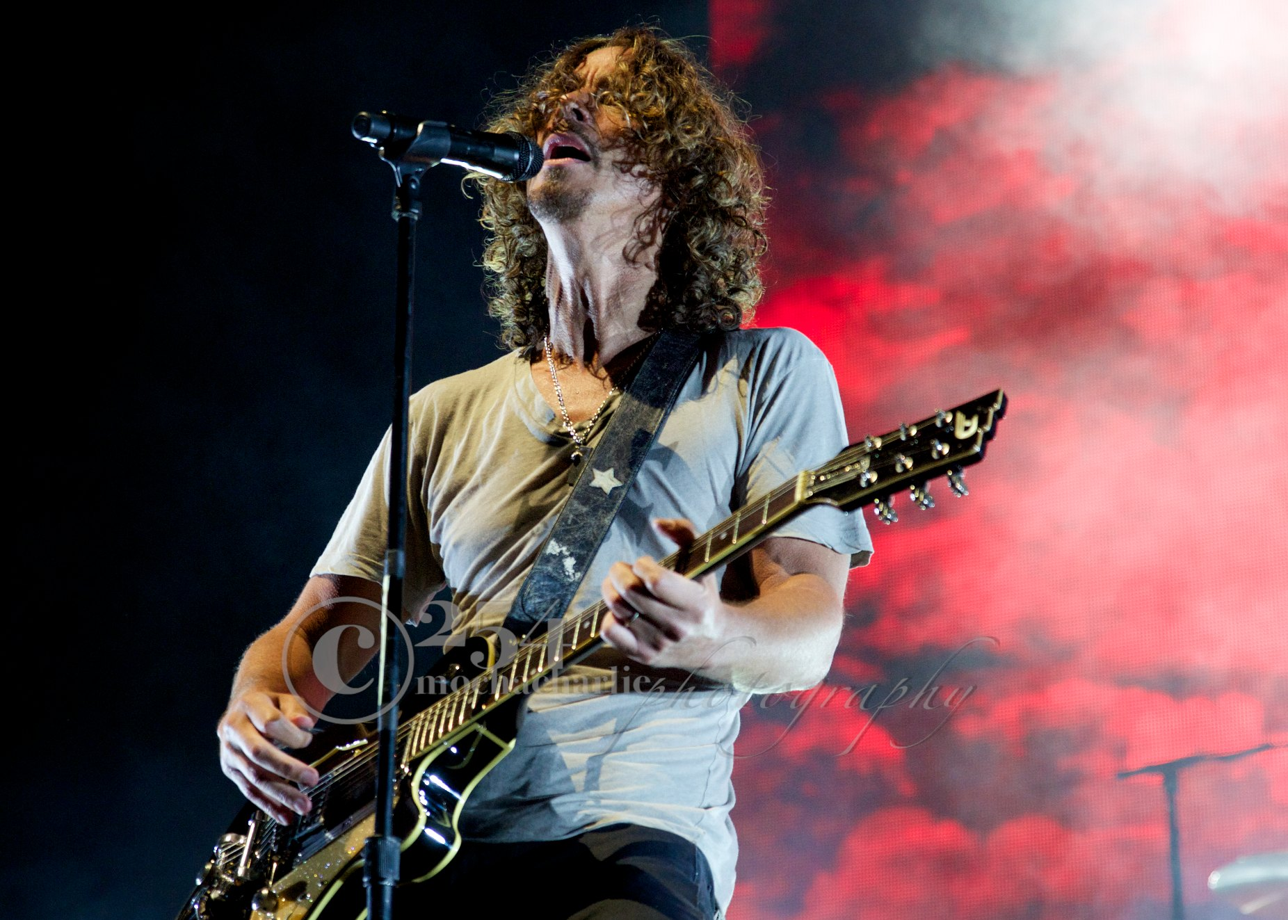 Soundgarden at White River Ampitheatre (Photo by Mocha Charlie)