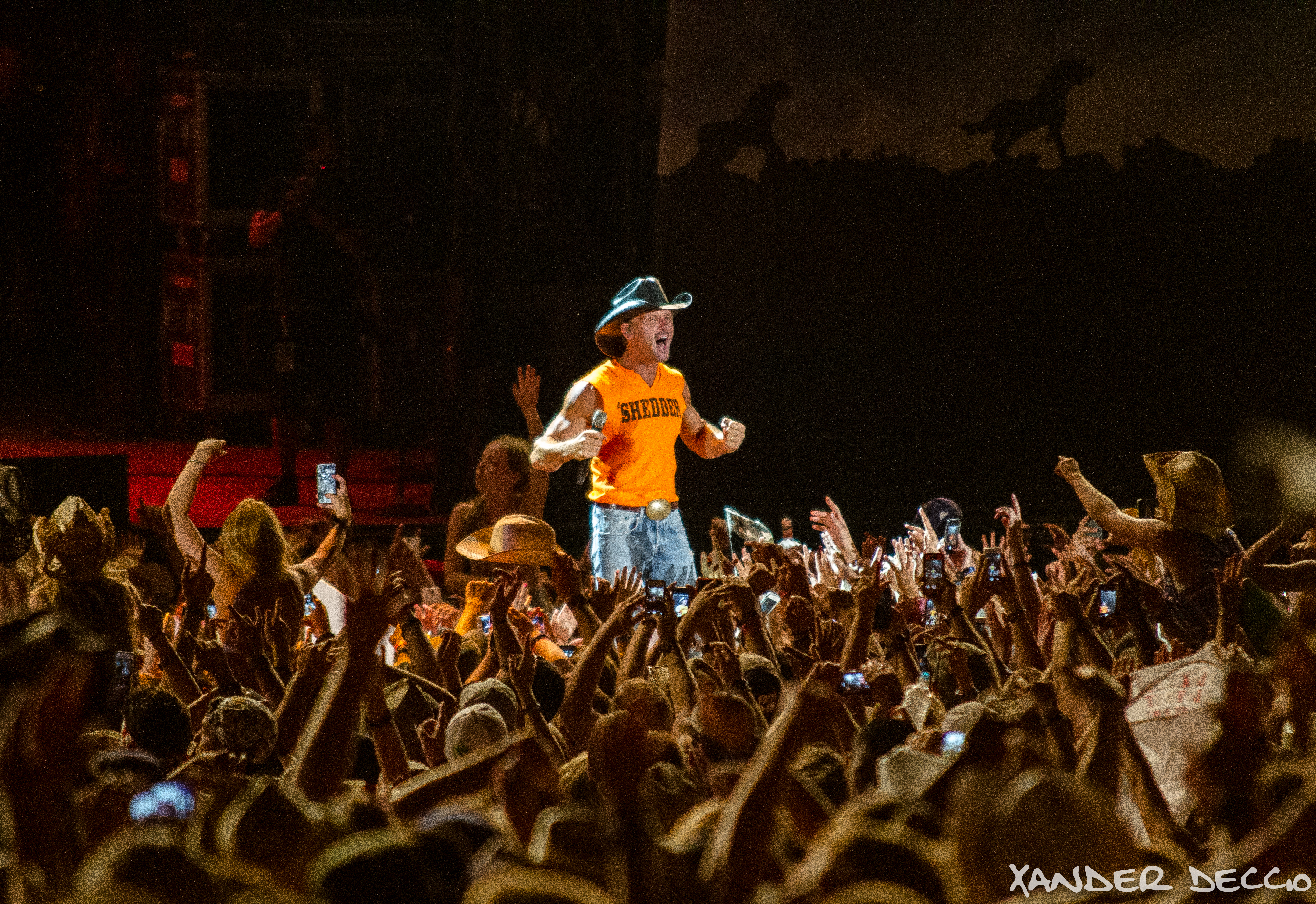 Tim McGraw at Watershed 2014 (Photo by Xander Deccio)