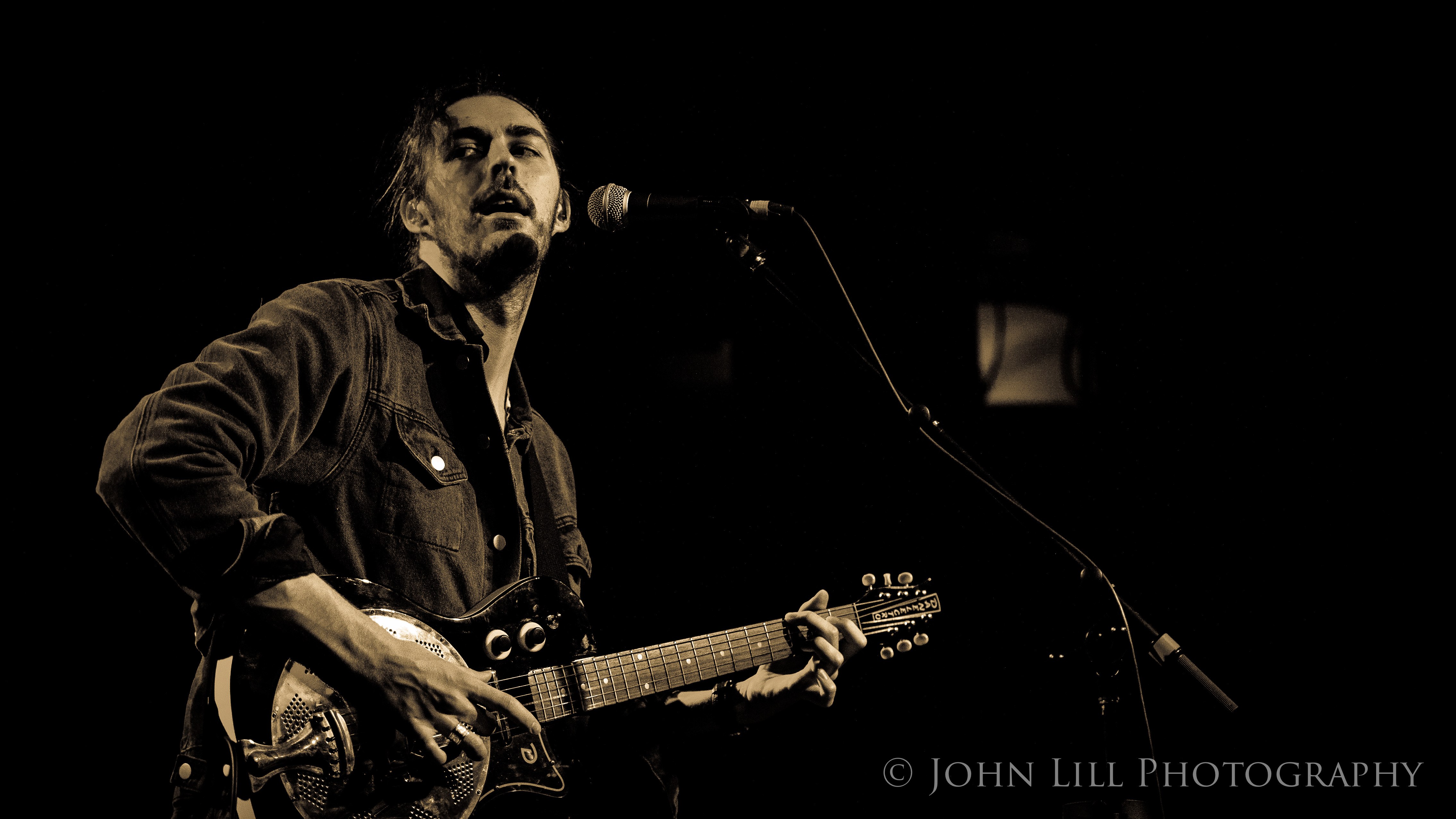Hozier performs to a sold out Showbox in Seattle. Photo by John Lill
