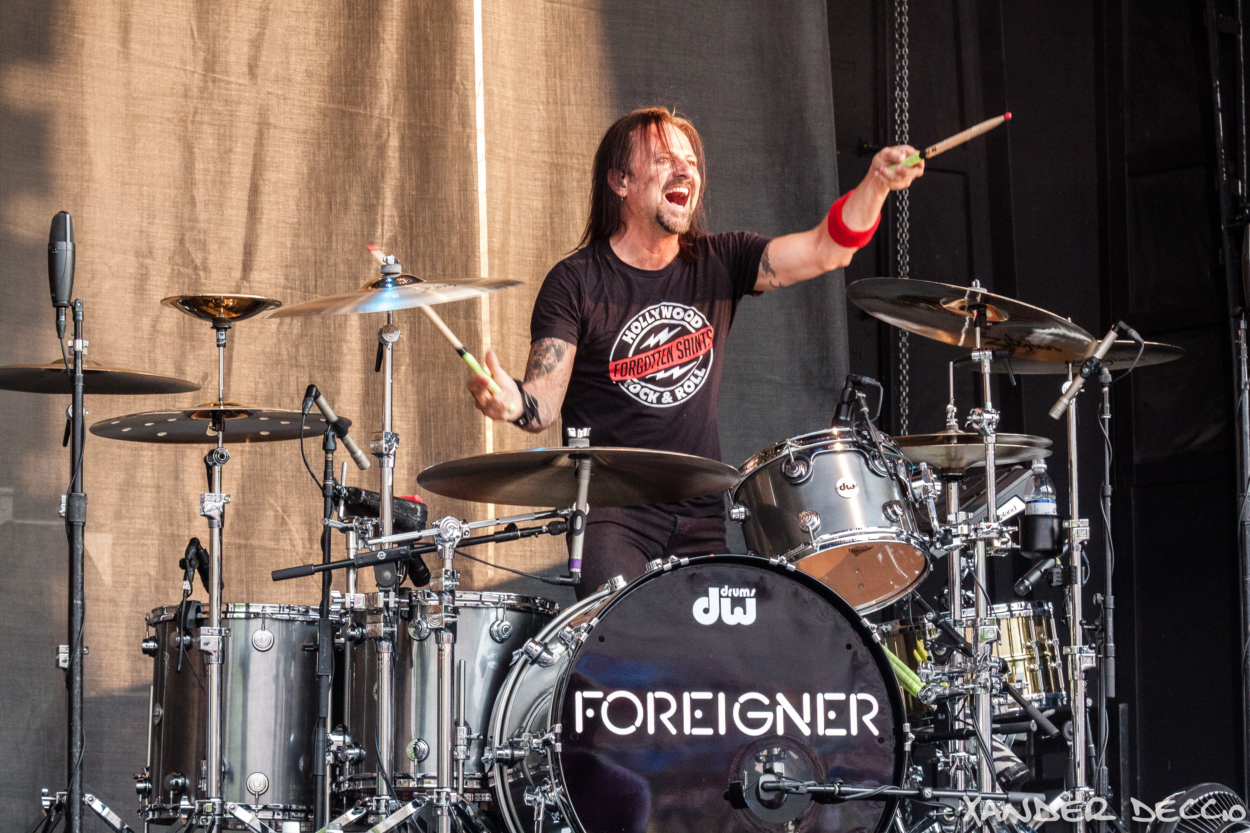 Foreigner @ Maryhill Winery (Photo By Xander Deccio)
