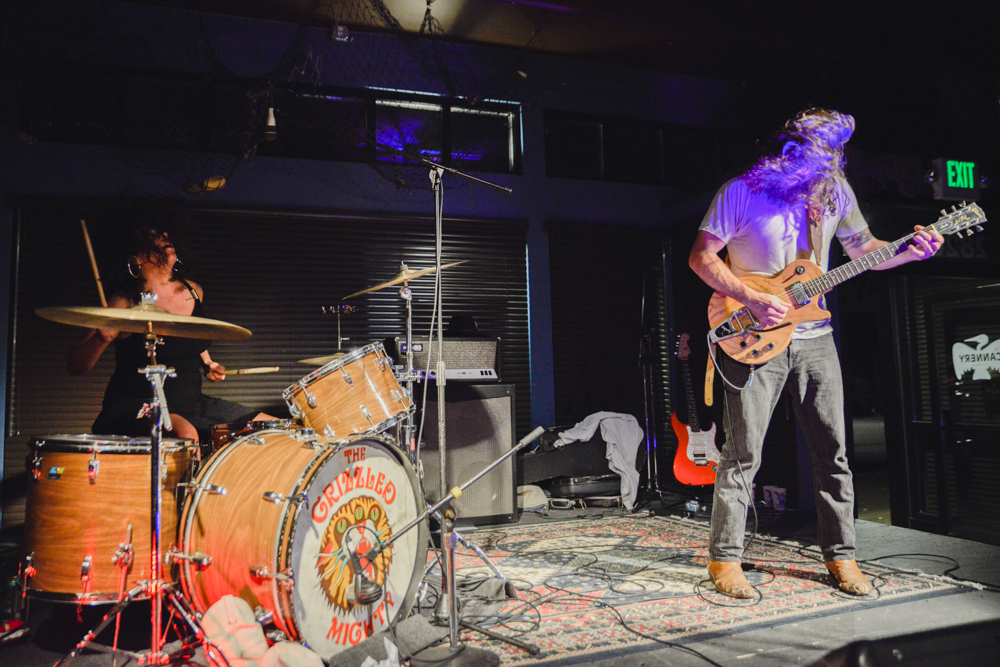 The Grizzled Mighty at The Cannery (Photo by Christine Mitchell)