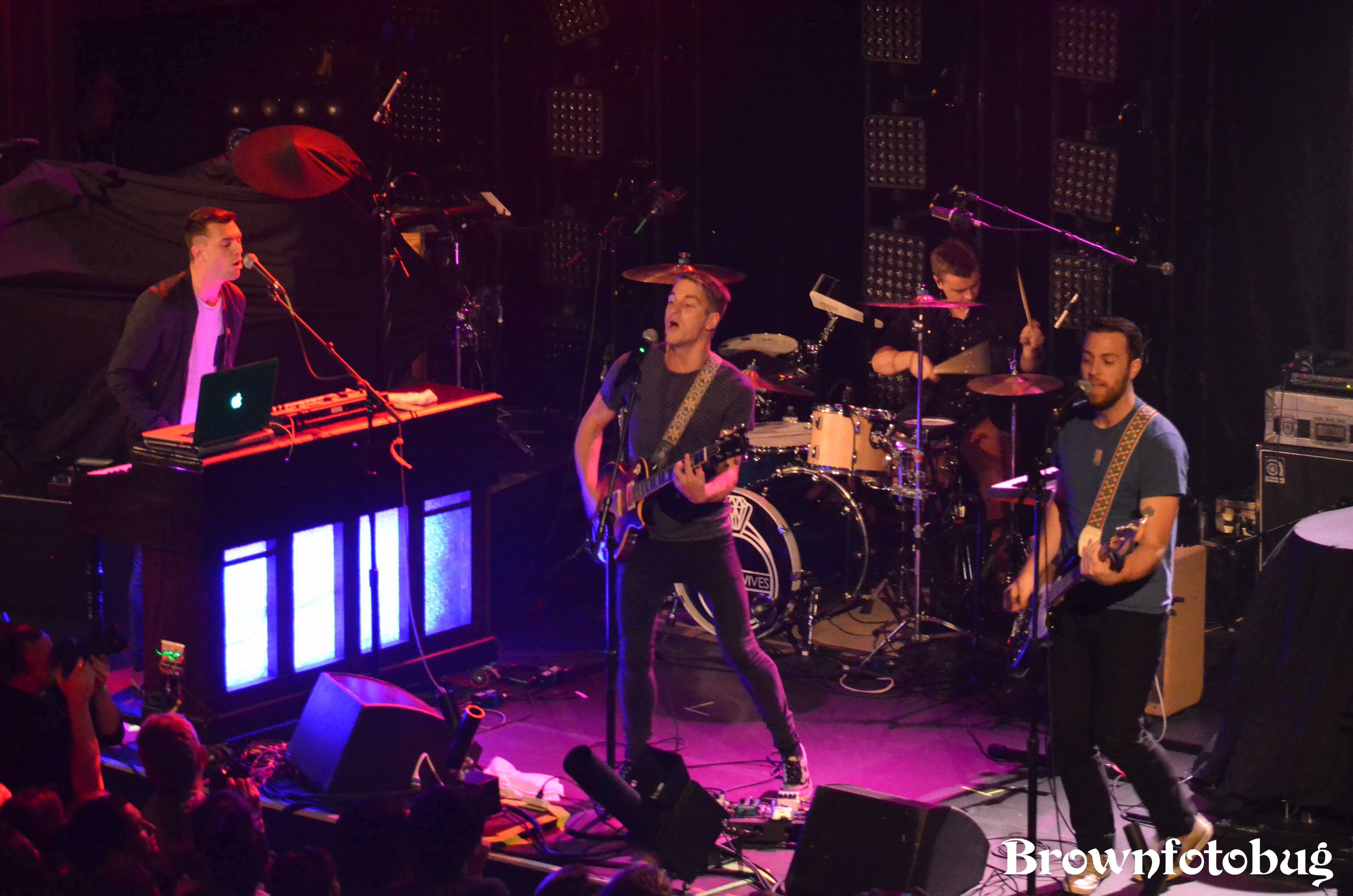 Vinyl Theatre Live at Neptune (Photo by Arlene Brown)