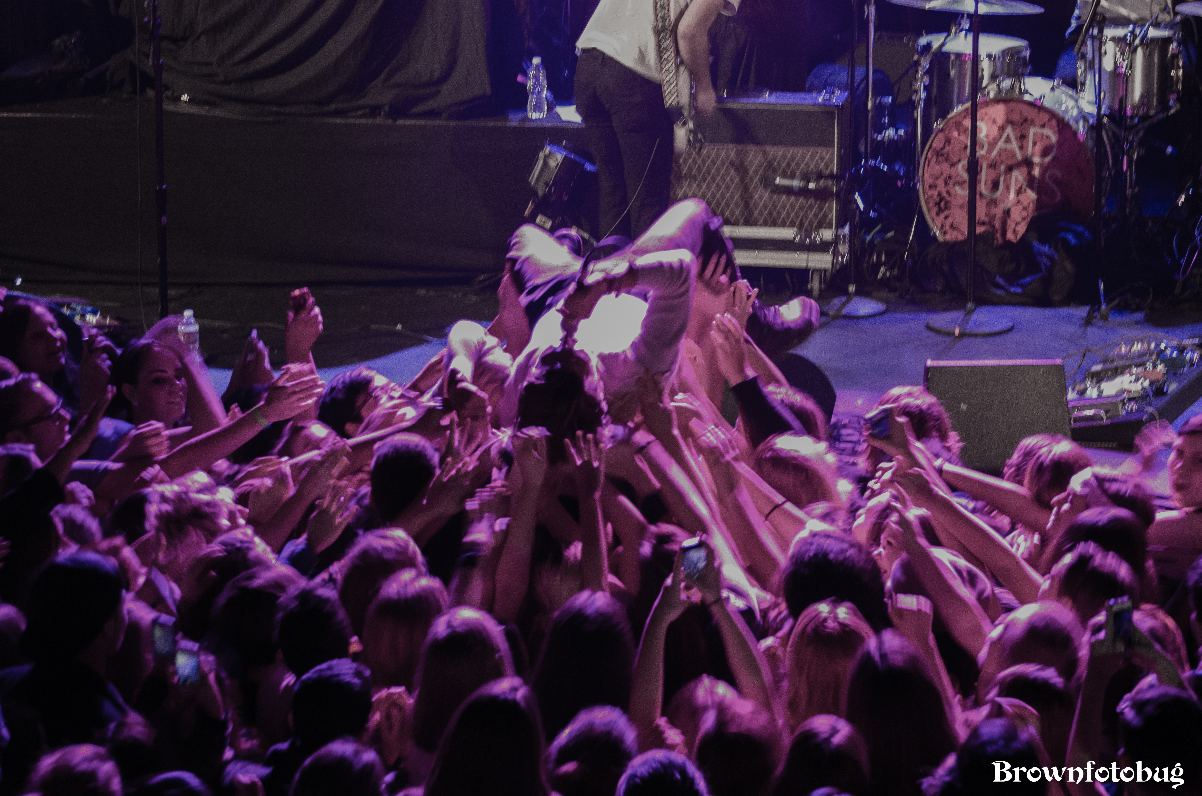 Bad Suns at Neptune Theatre (Photo by Arlene Brown)