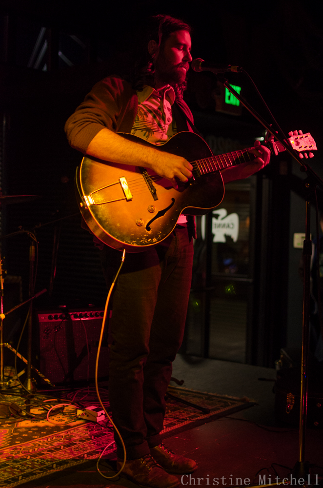 Bryan John Applelby at The Cannery (Photo by Christine Mitchell)