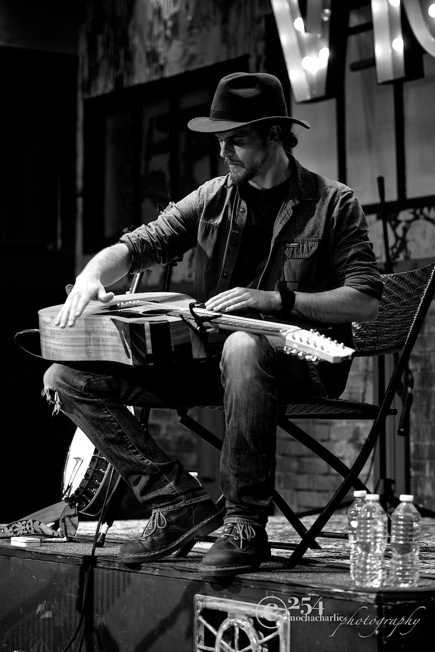 Blake Noble at Band In Seattle (Photo by Mocha Charlie)