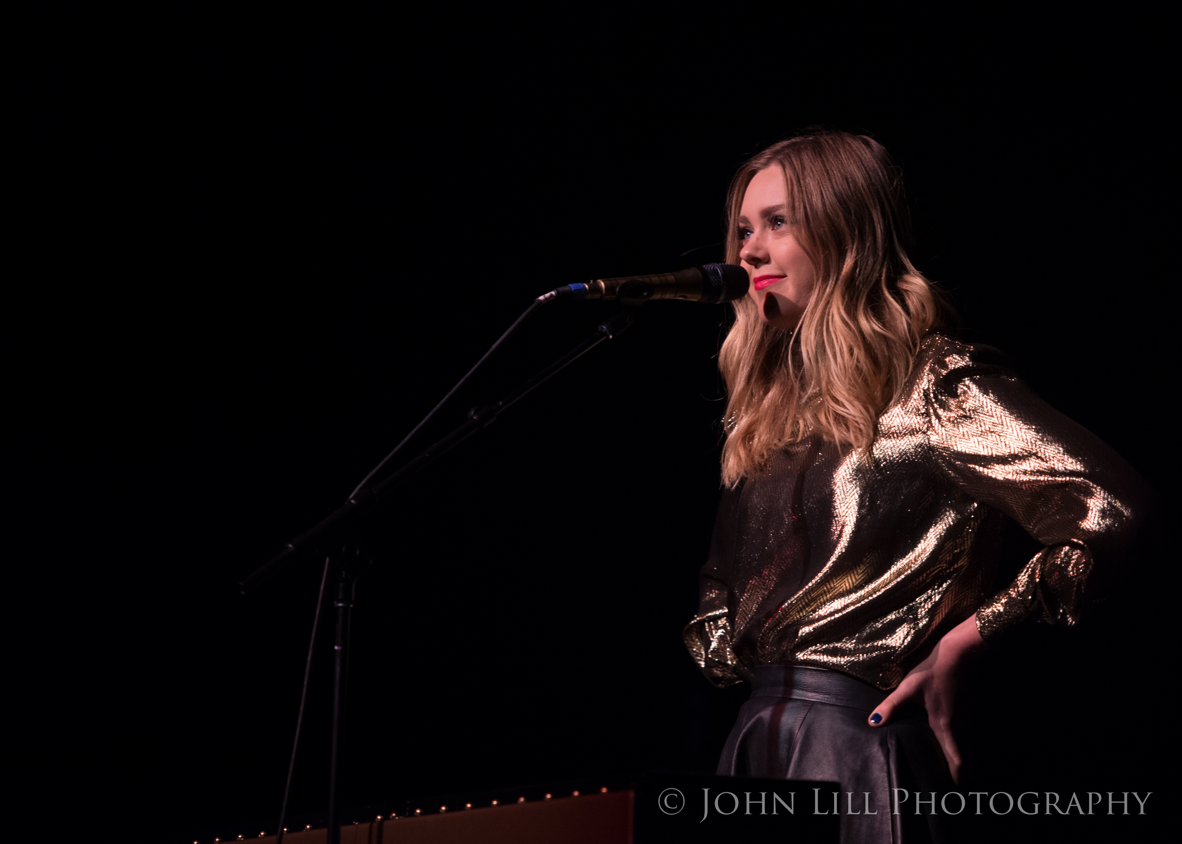 First Aid Kit perform at the Moore Theatre. Photo by John Lill