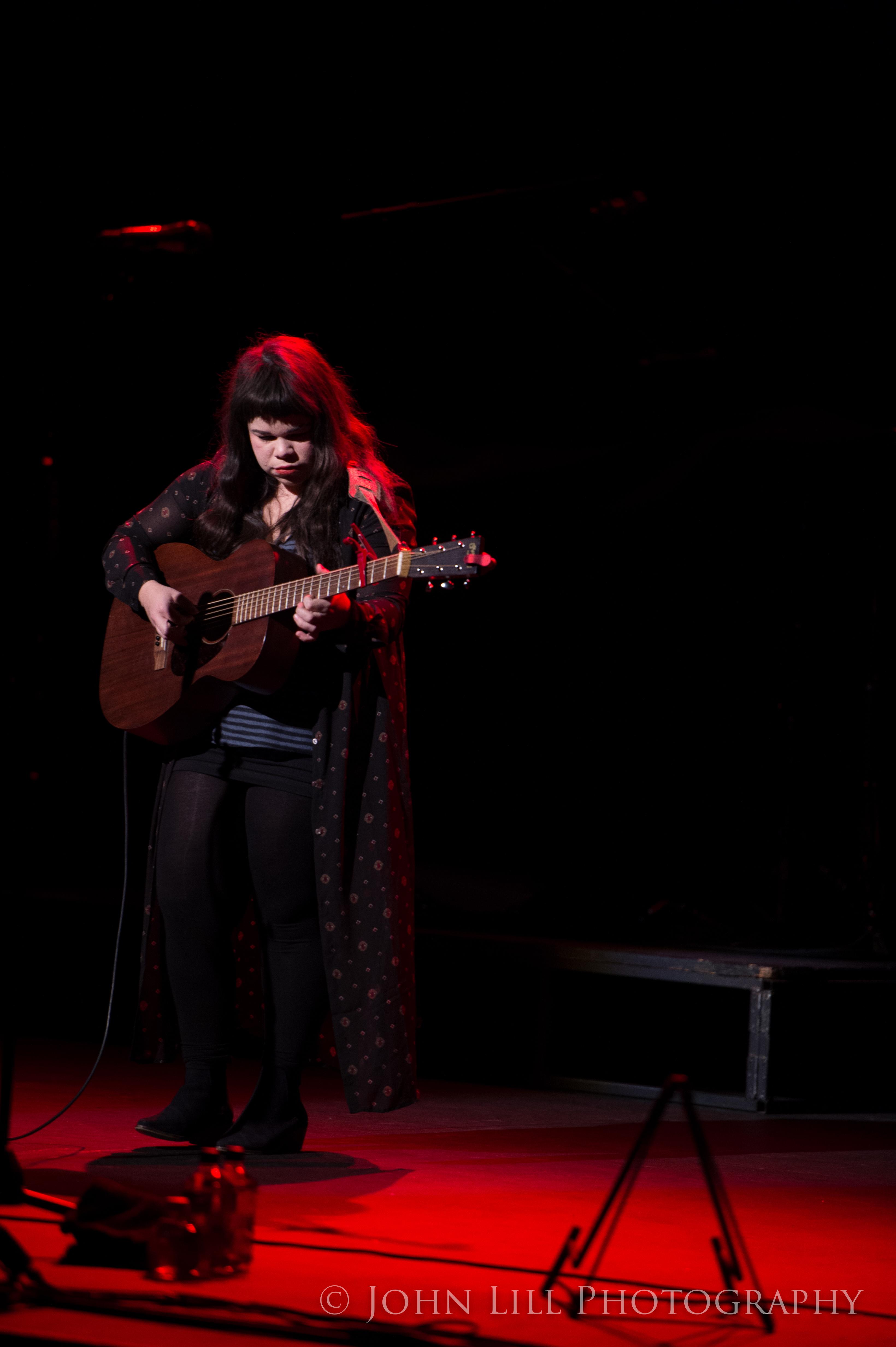 Samantha Crain at the Moore Theatre. Photo by John Lill