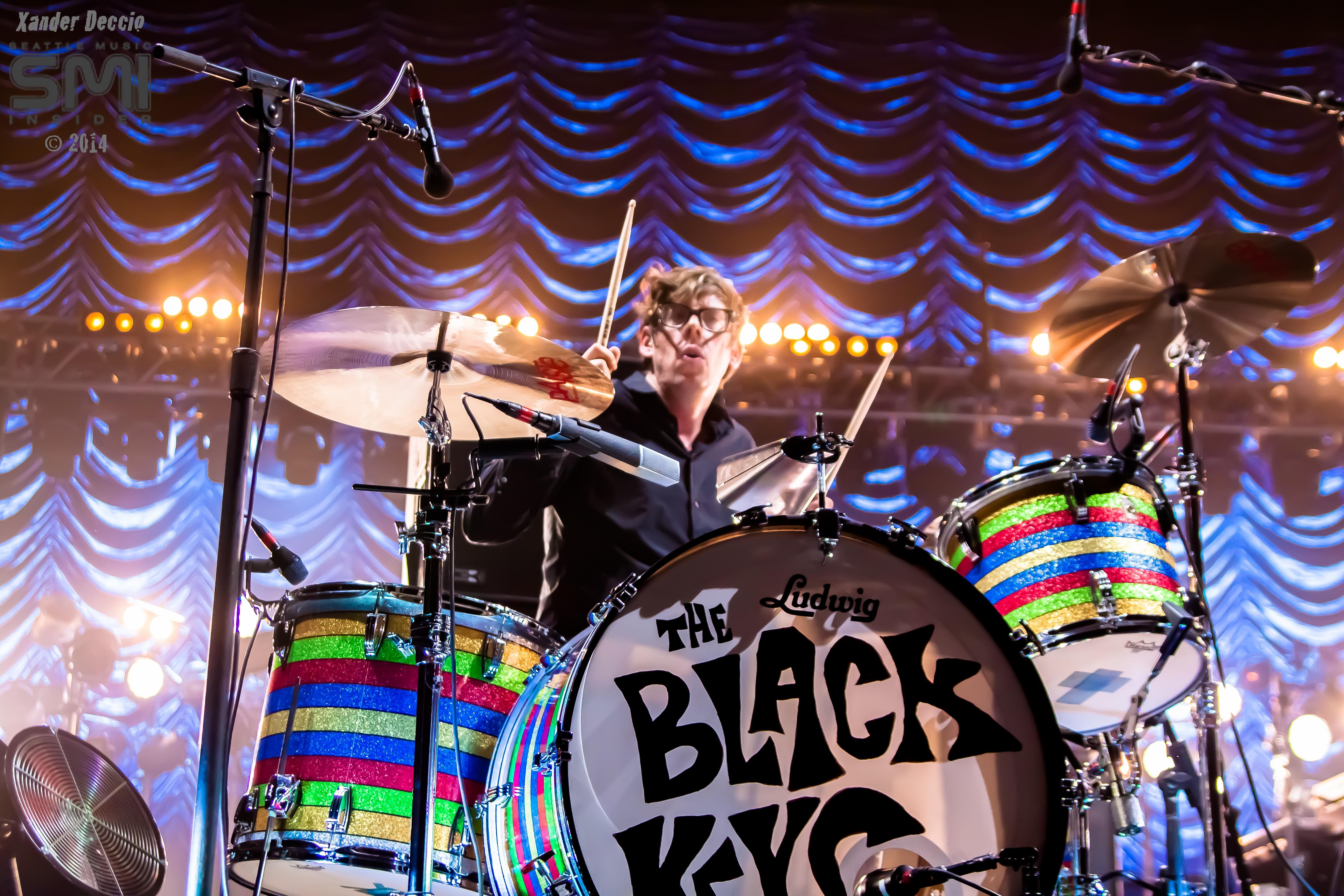 The Black Keys @ KeyArena (Photo By Xander Deccio)