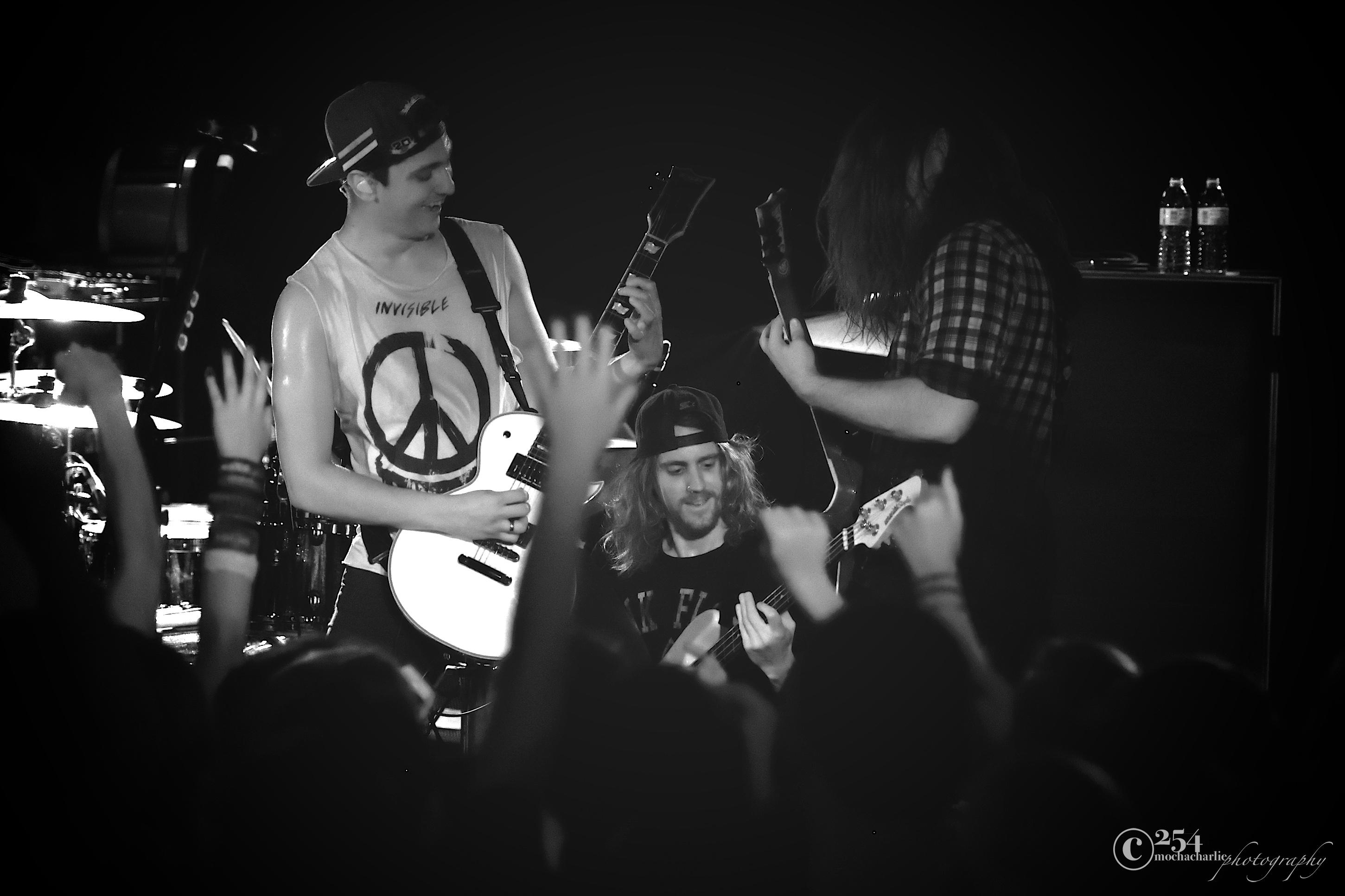 Tonight Alive! at El Corazon (Photo by Mocha Charlie)