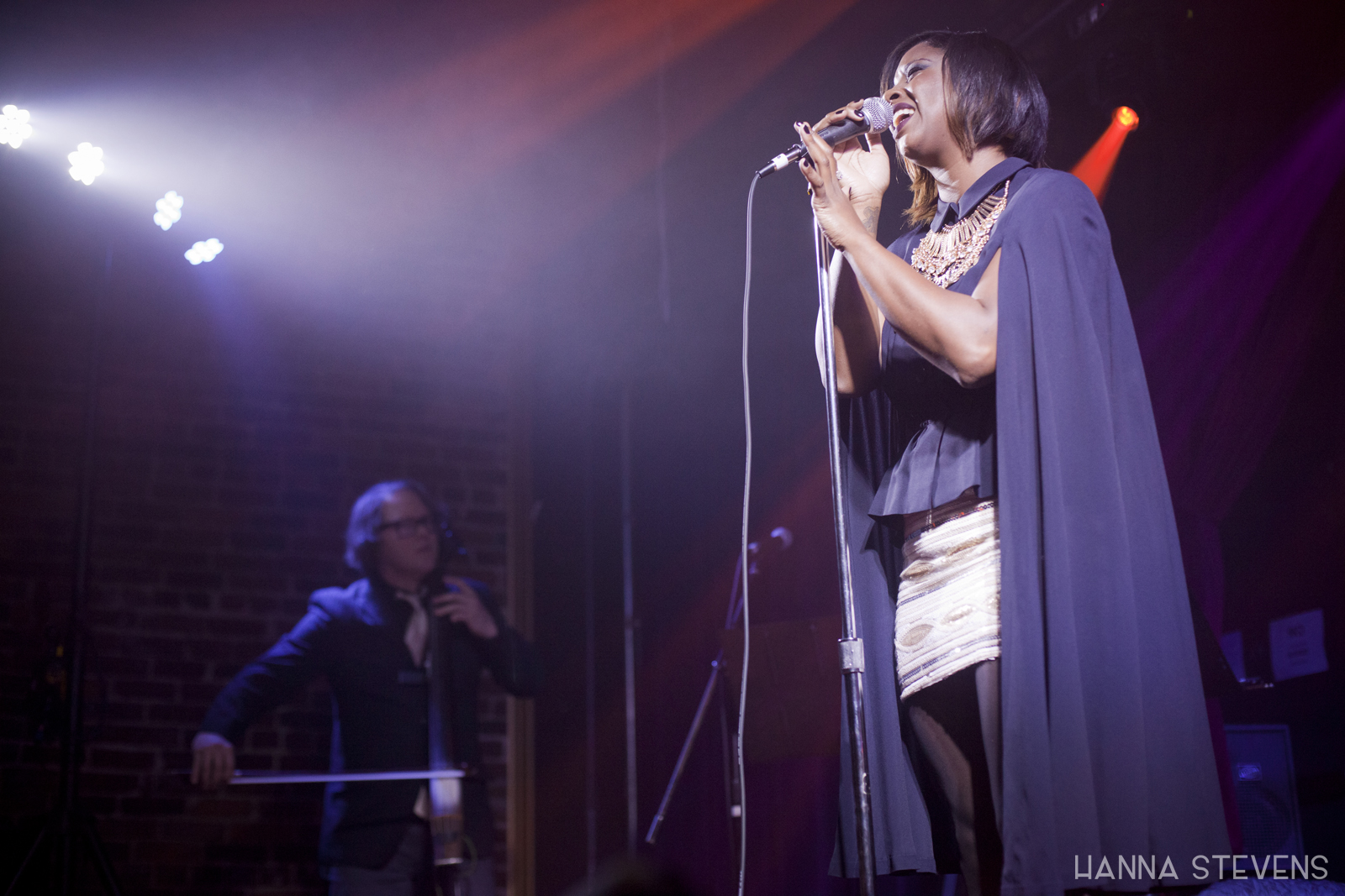 Shaprece at Columbia City Theater (Photo by Hanna Stevens)