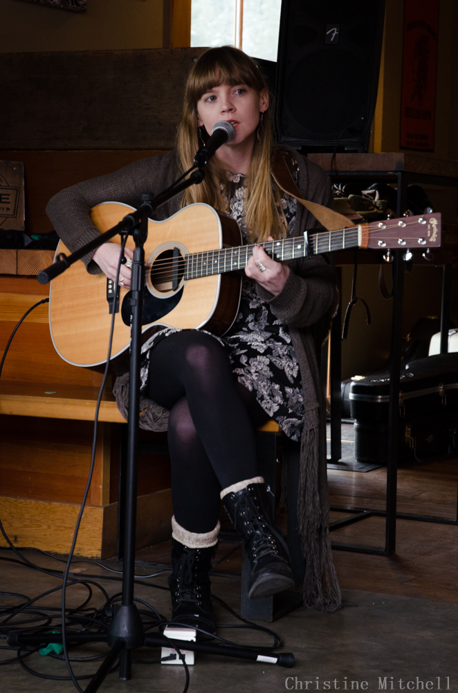 Courtney Marie Andrews at Timbrrr! (Photo by Christine Mitchell)