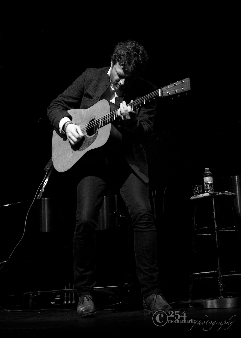 Korby Lenker at The Triple Door (Photo by Mocha Charlie)