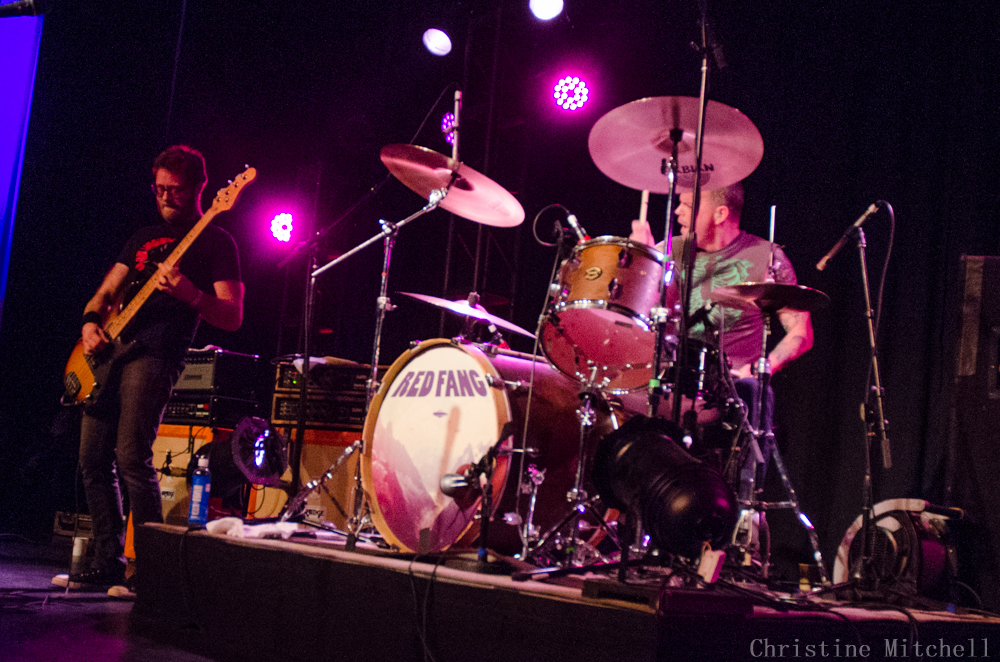 Red Fang at Timbrrr! (Photo by Christine Mitchell)