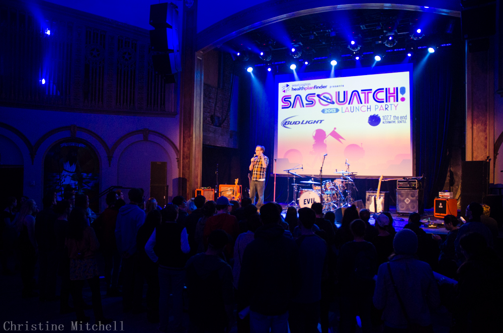 SASQUATCH! Launch Party at the Neptune (Photo by Christine Mitchell)