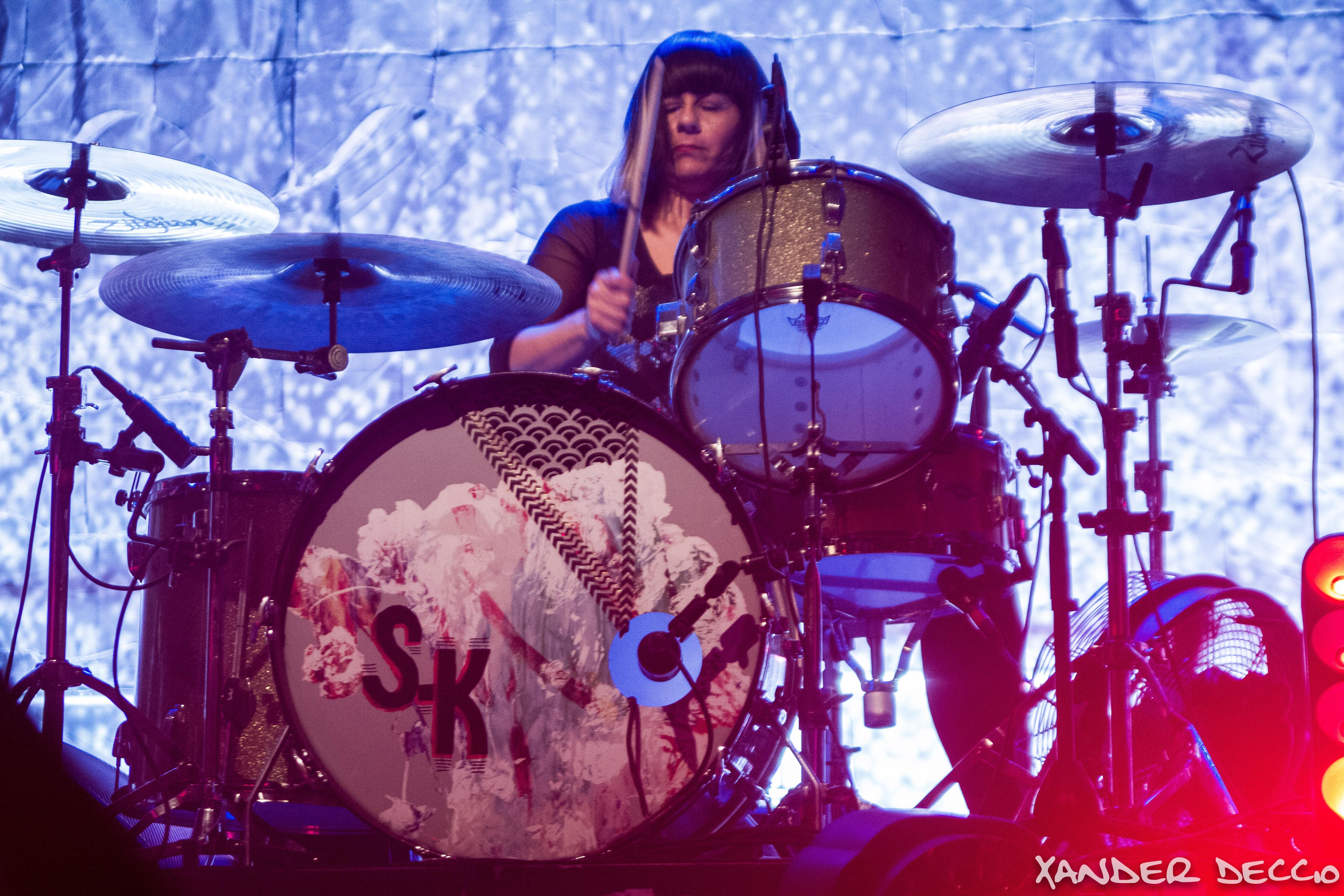 Sleater-Kinney @ The Knitting Factory (Photo By Xander Deccio)
