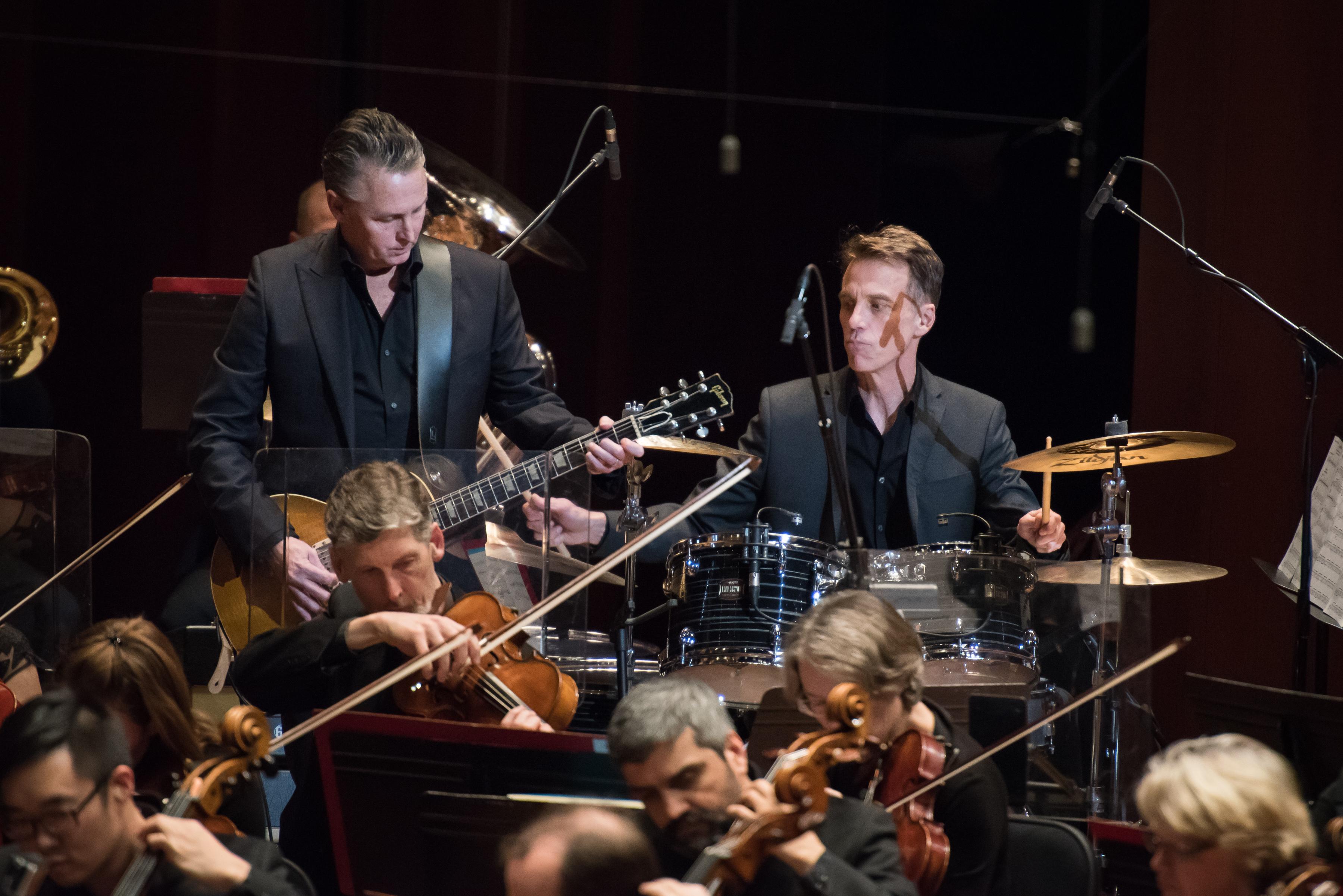 Seattle Symphony, Mike McCready & Mad Season at Benaroya Hall (Photo by Brandon Patoc)