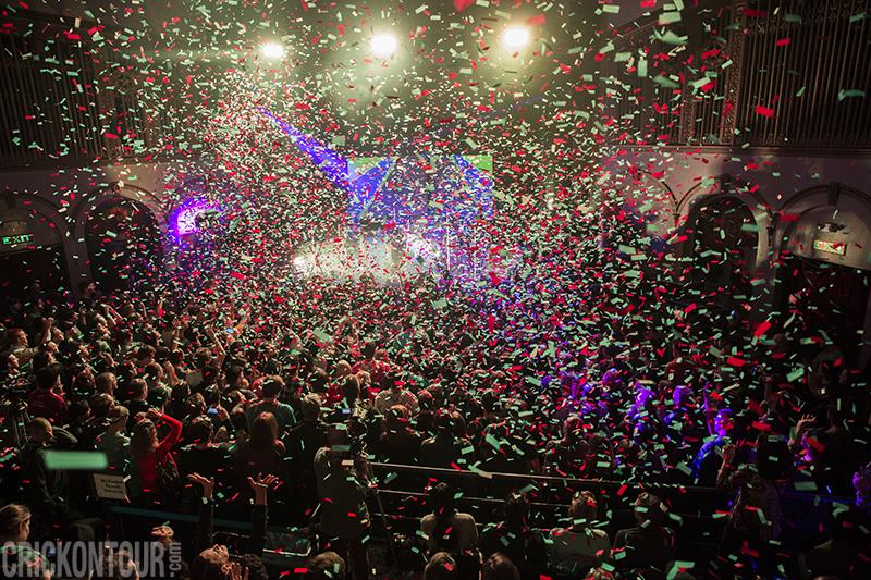 OK Go at The Neptune Theatre (Photo by Alex Crick)
