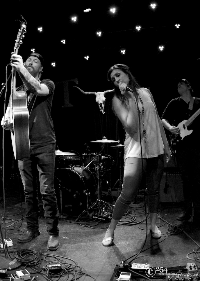 Cody Beebe, Skyler Mehal & Pauline Wick at The Tractor Tavern (Photo by Mocha Charlie)