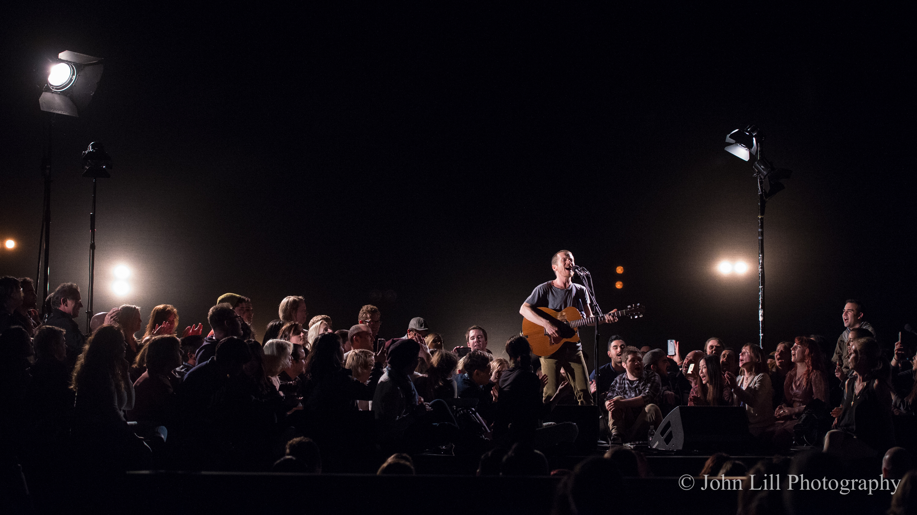 Damien Rice performs at McCaw Hall. (Photo by John Lill)