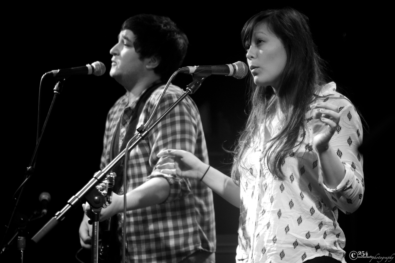 Jazmarae Beebe & Nick Foster at The Tractor Tavern (Photo by Mocha Charlie)