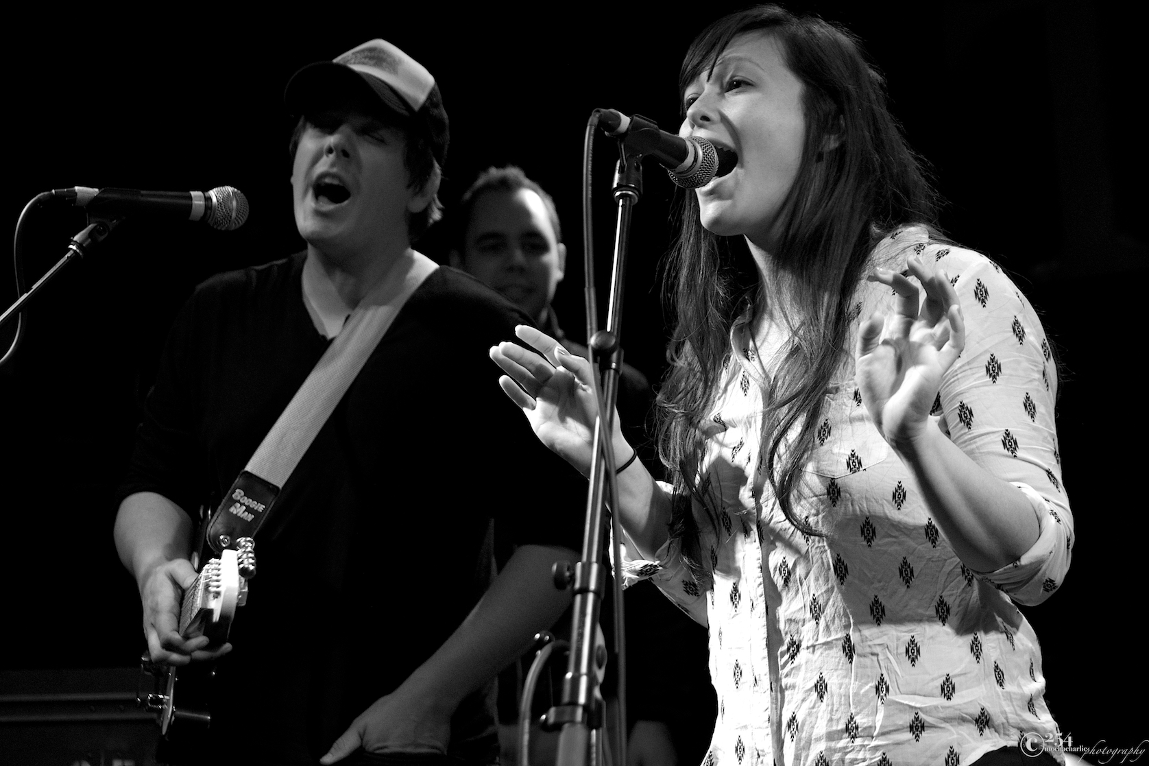 Jazmarae & Skyler Mehal at The Tractor Tavern (Photo by Mocha Charlie)