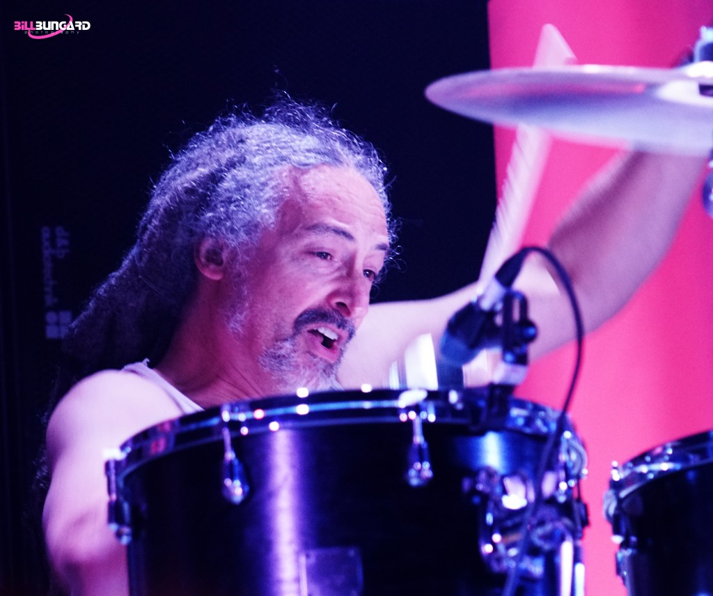 Mike Bordin of Faith No More at The Paramount (Photo by Bill Bungard)