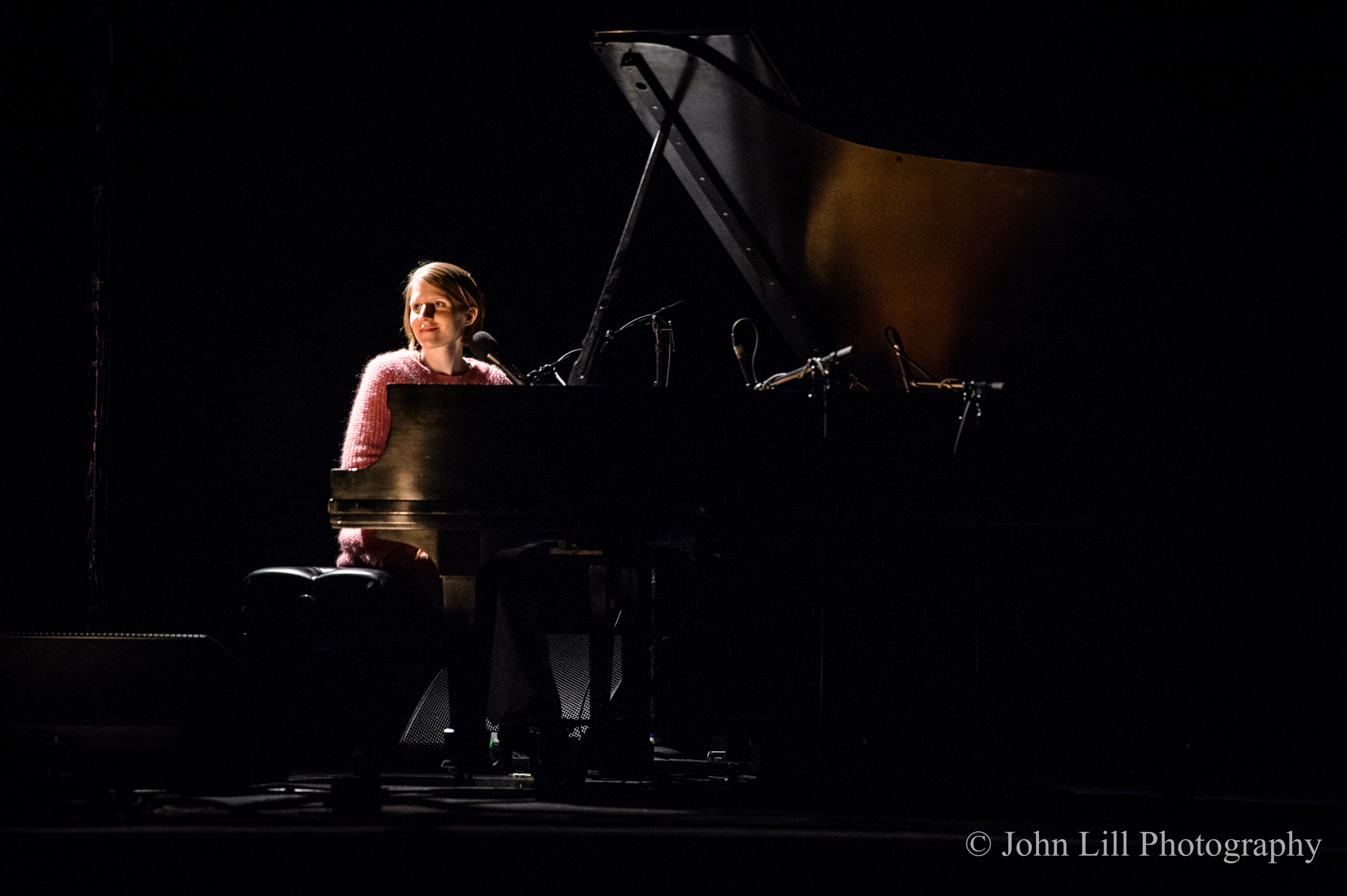 Marketa Irglova performs at McCaw Hall. (Photo by John Lill)