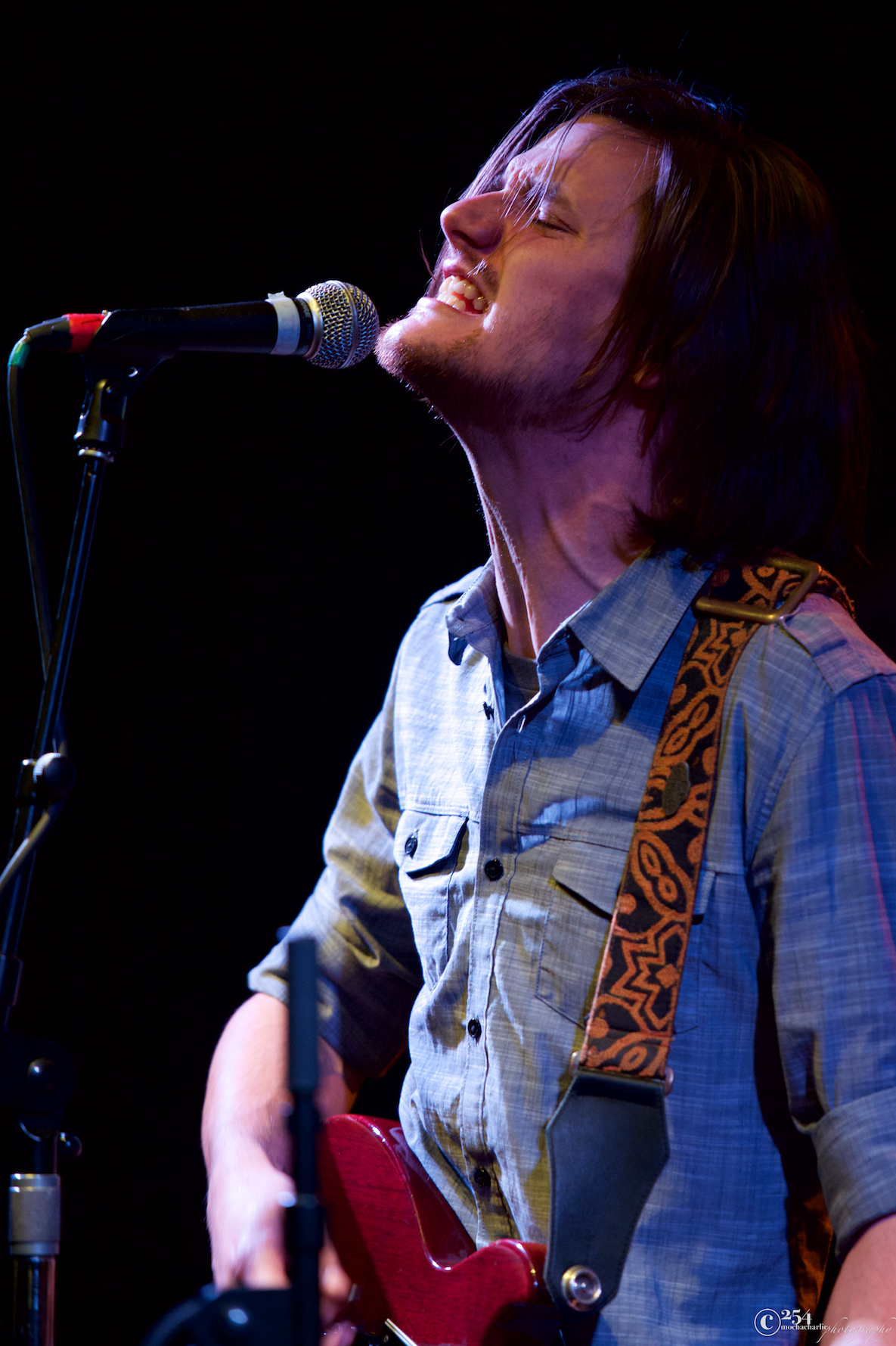TJ Grant (If Bears Were Bees) at The Tractor Tavern (Photo by Mocha Charlie)
