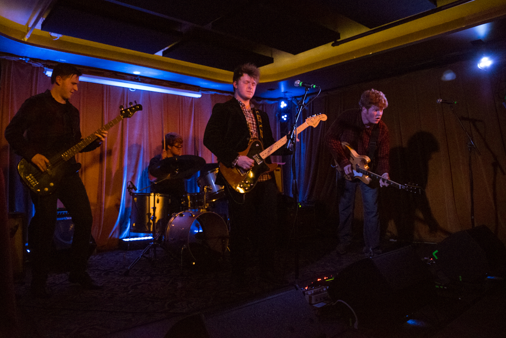 The Pro-Nouns at Barboza (Photo by Christine Mitchell)