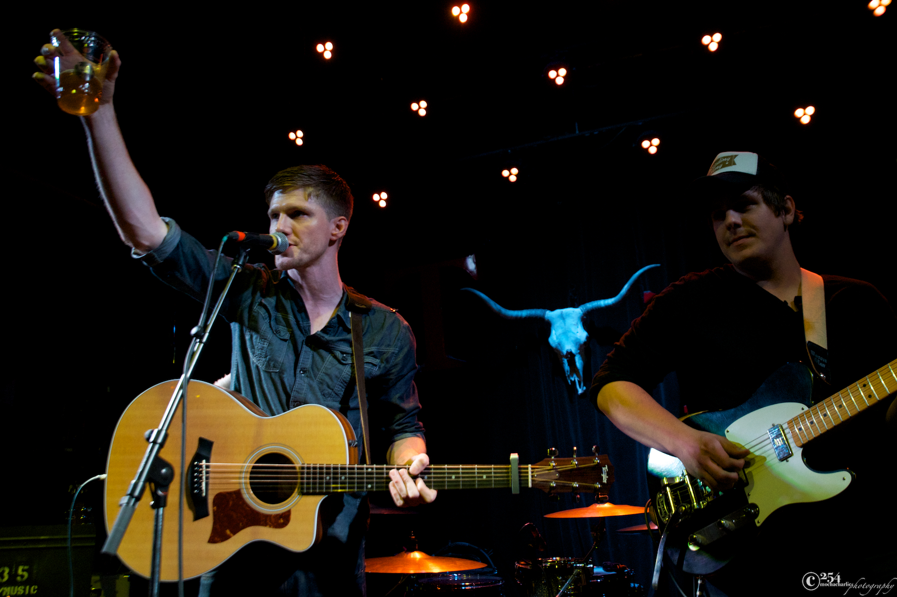 Tommy Simmons & Skyler Mehal at The Tractor Tavern (Photo by Mocha Charlie)