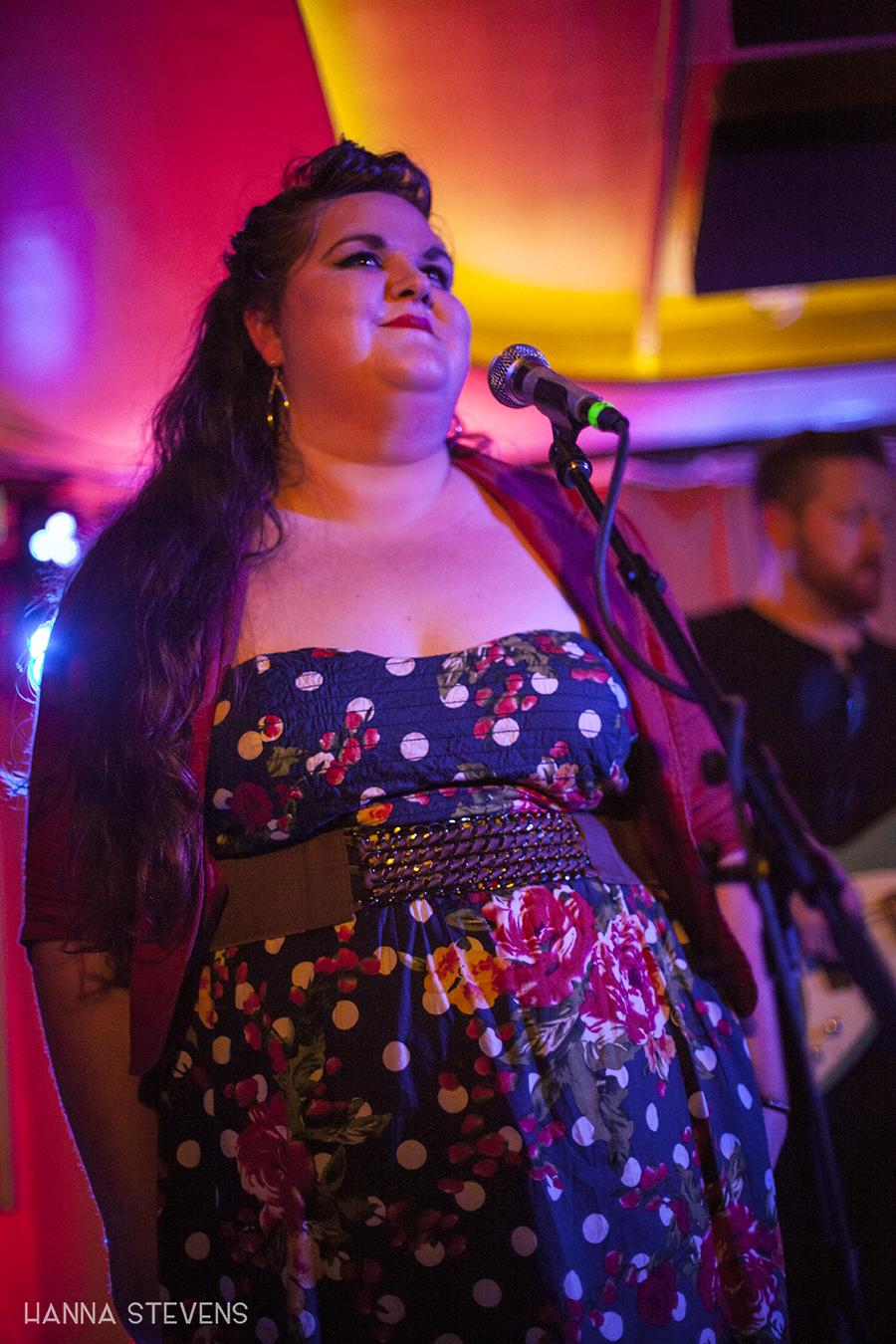 Megan Wilde at Barboza (Photo by Hanna Stevens)