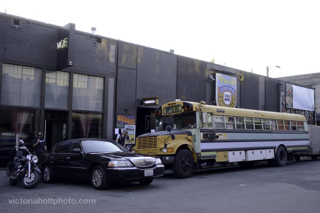 Dan Deacon's Tour Bus outside Neumos (Photo by Victoria Holt)