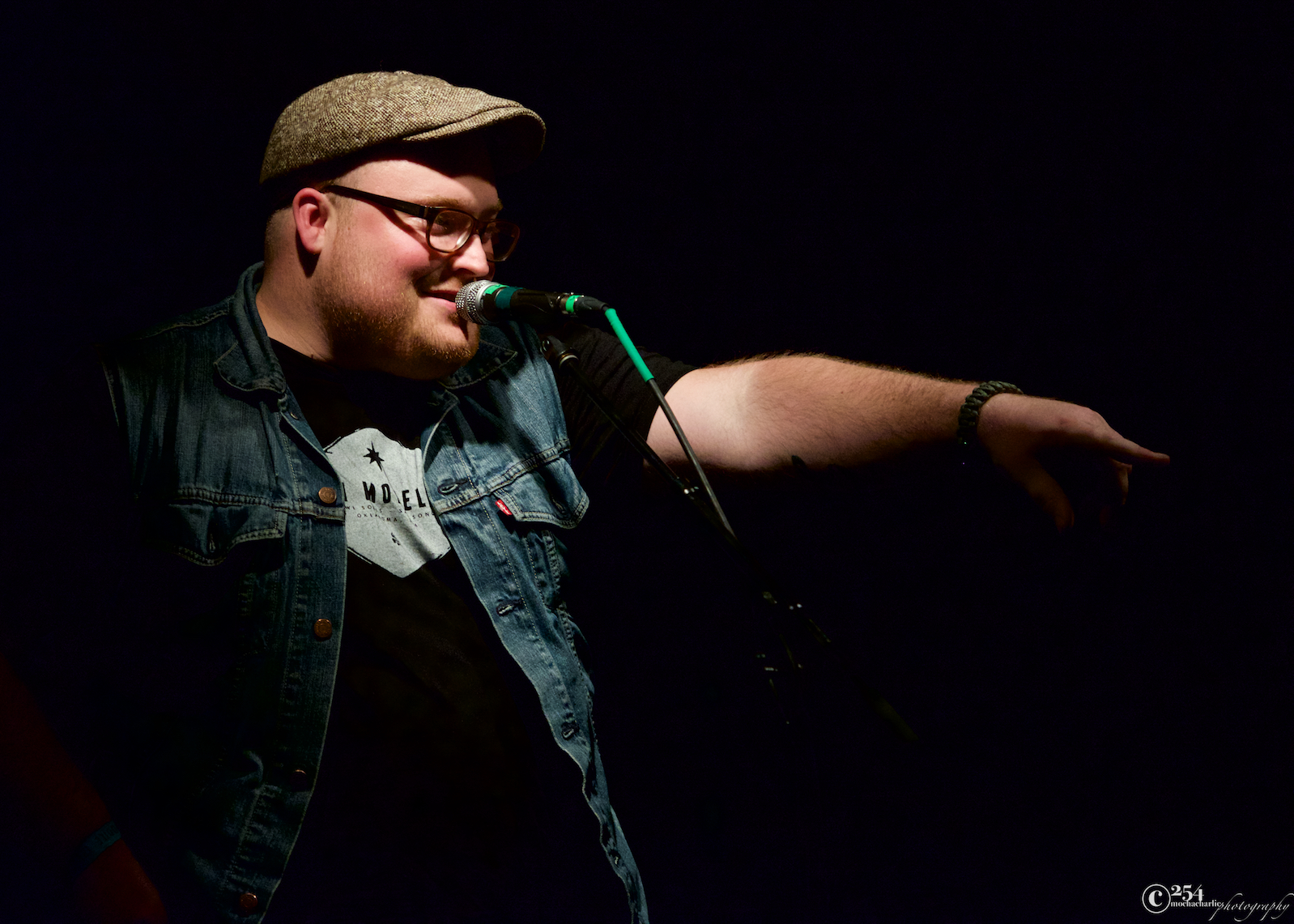 Austin Jenckes at Chinook Fest West Reveal at The Crocodile (Photo by Mocha Charlie)