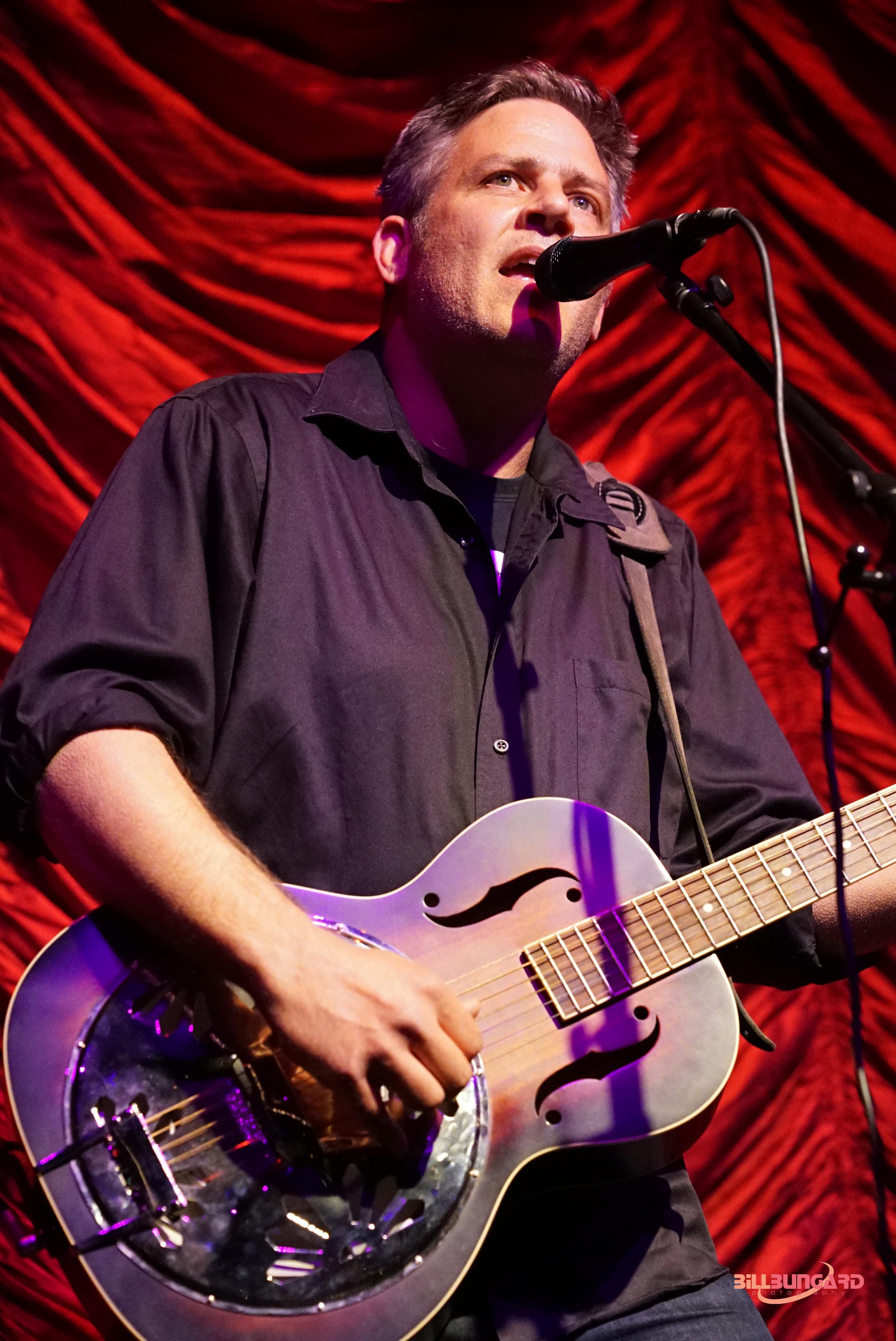 Jeremy Serwer at The Triple Door (Photo by Bill Bungard)
