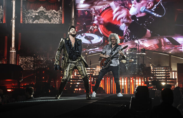 Queen + Adam Lambert at the Tacoma Dome